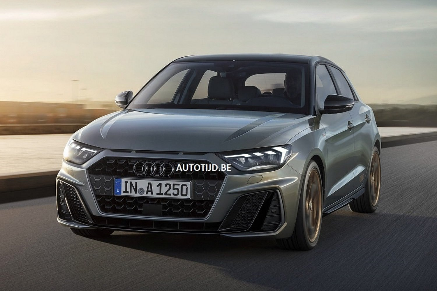 2019 audi a1 leaked official photos reveal sporty design autoevolution. Black Bedroom Furniture Sets. Home Design Ideas