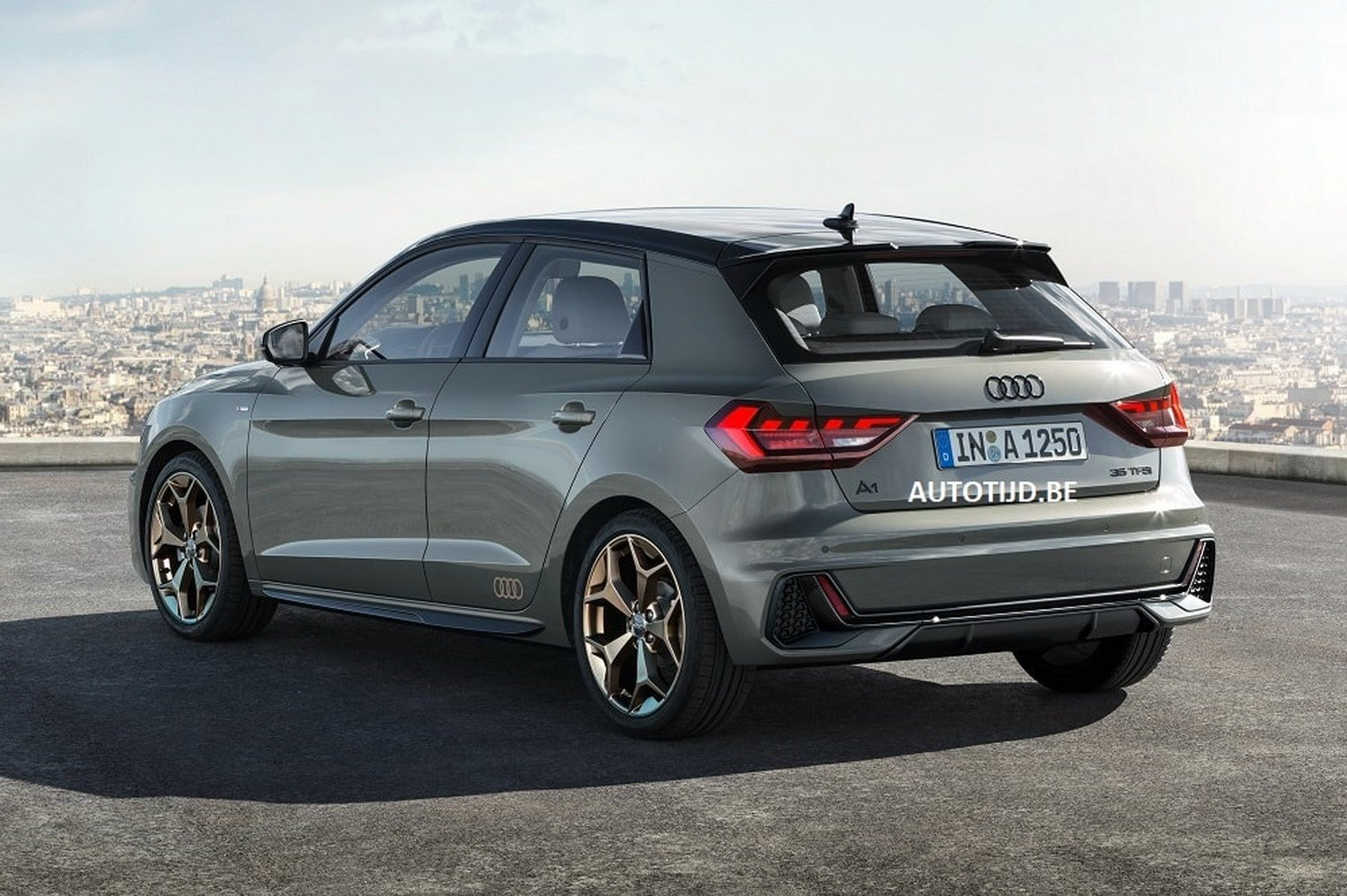 2019 audi a1 leaked official photos reveal sporty design