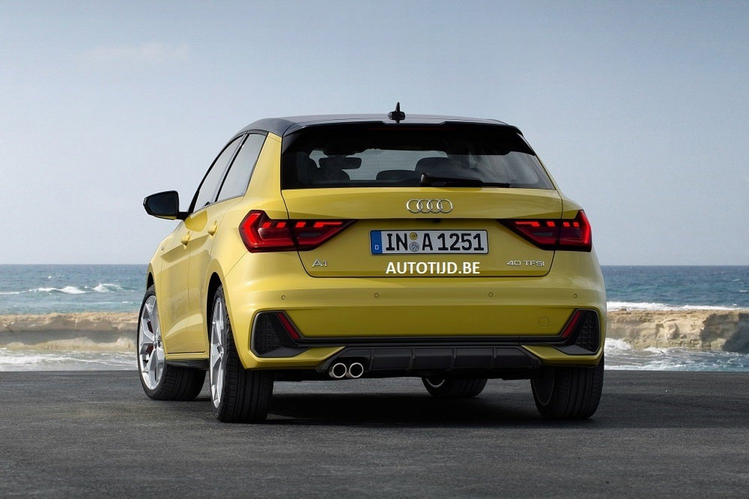 2019 Audi A1 Leaked Official Photos Reveal Sporty Design - autoevolution