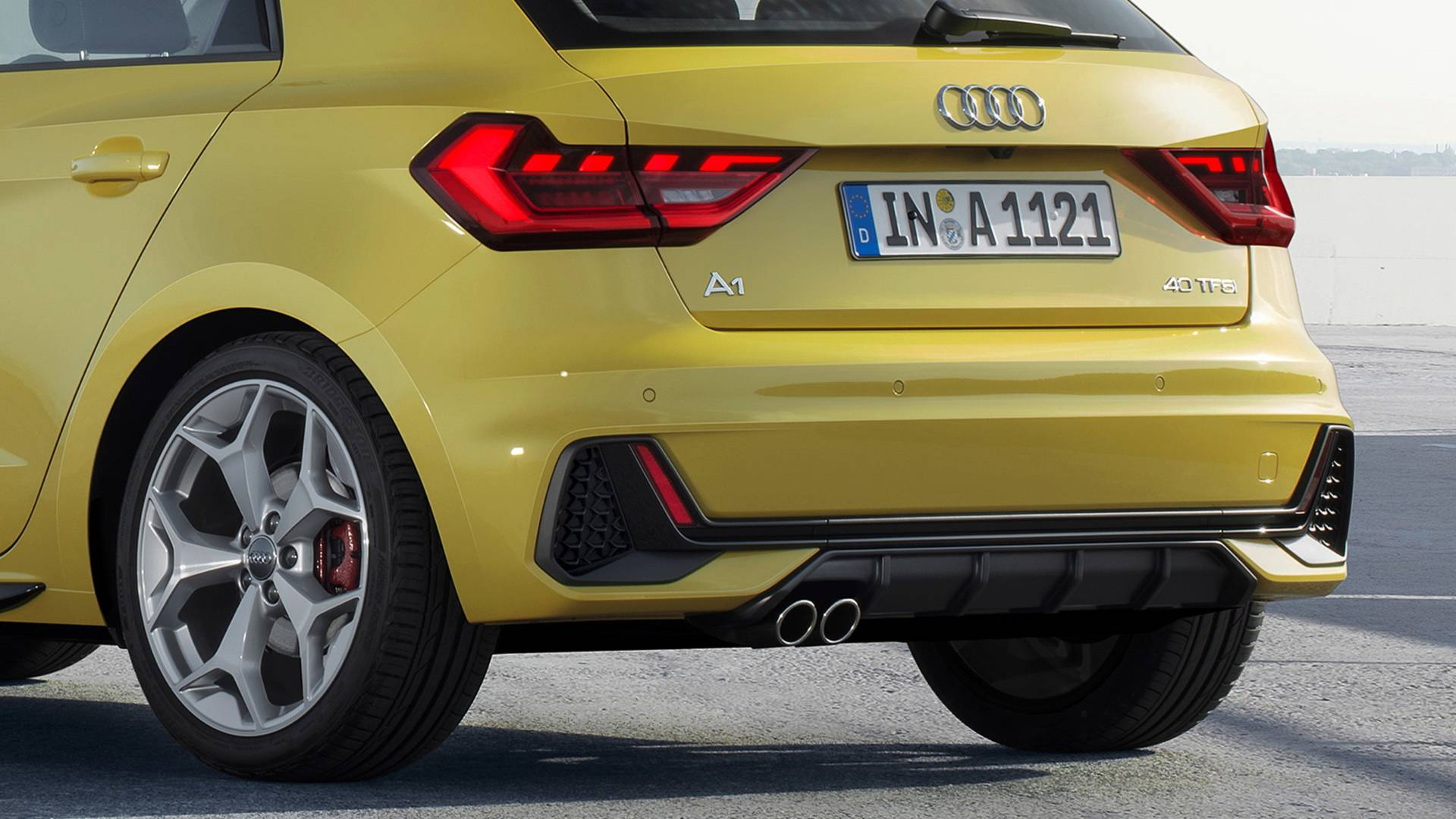 2019 audi a1 sportback revealed 40 tfsi boasts 2 0 liter engine with 200 ps autoevolution. Black Bedroom Furniture Sets. Home Design Ideas