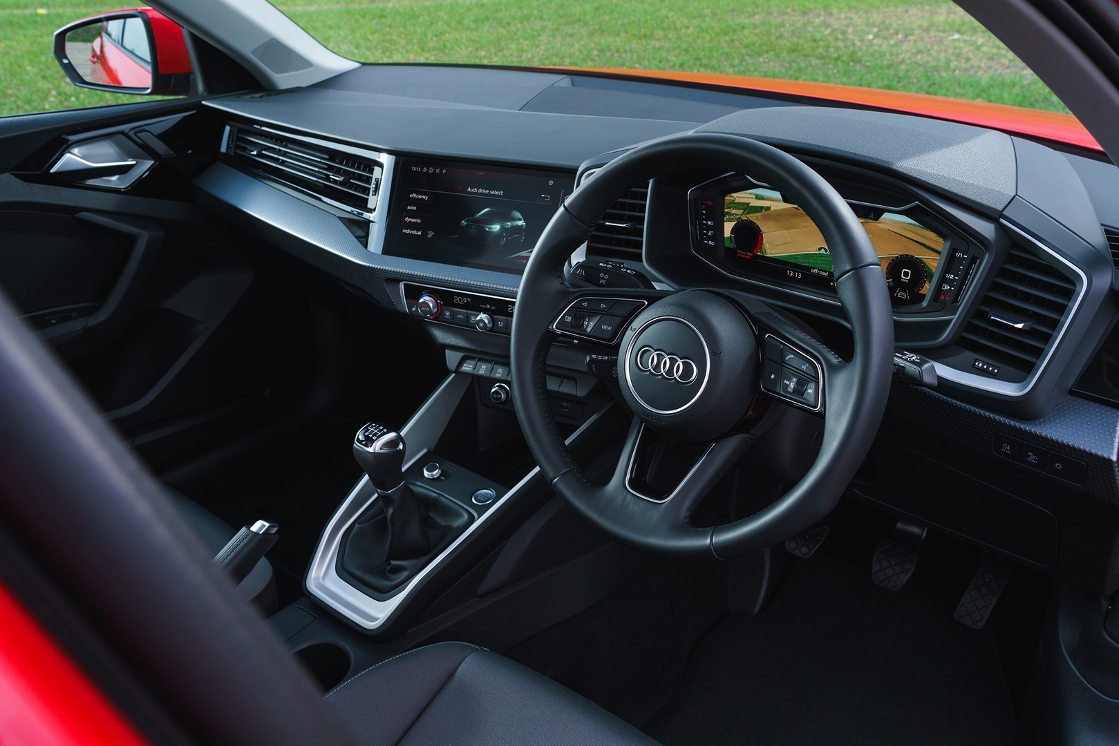 2019 Audi A1 Teases Virtual Cockpit, Huge MMI Screen Ahead
