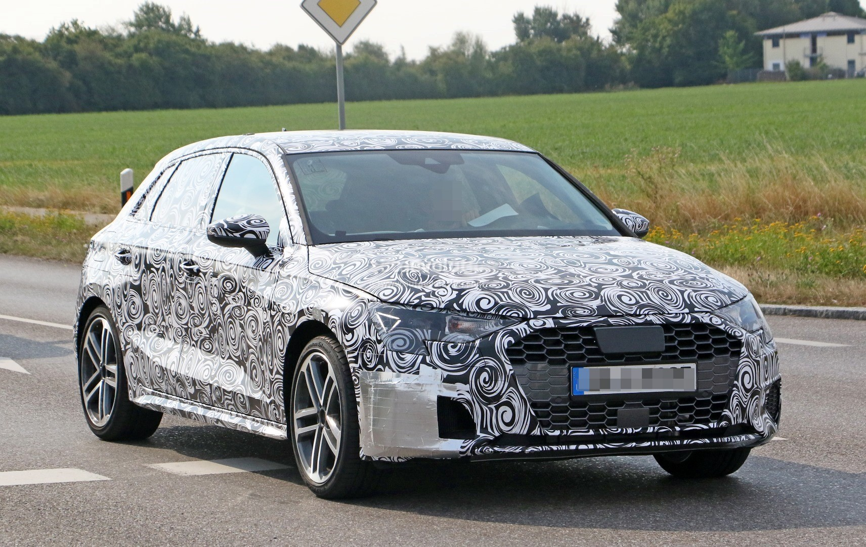 2019 Audi A3 Spied For The First Time, Quad-Exhaust System Looks Intriguing - autoevolution