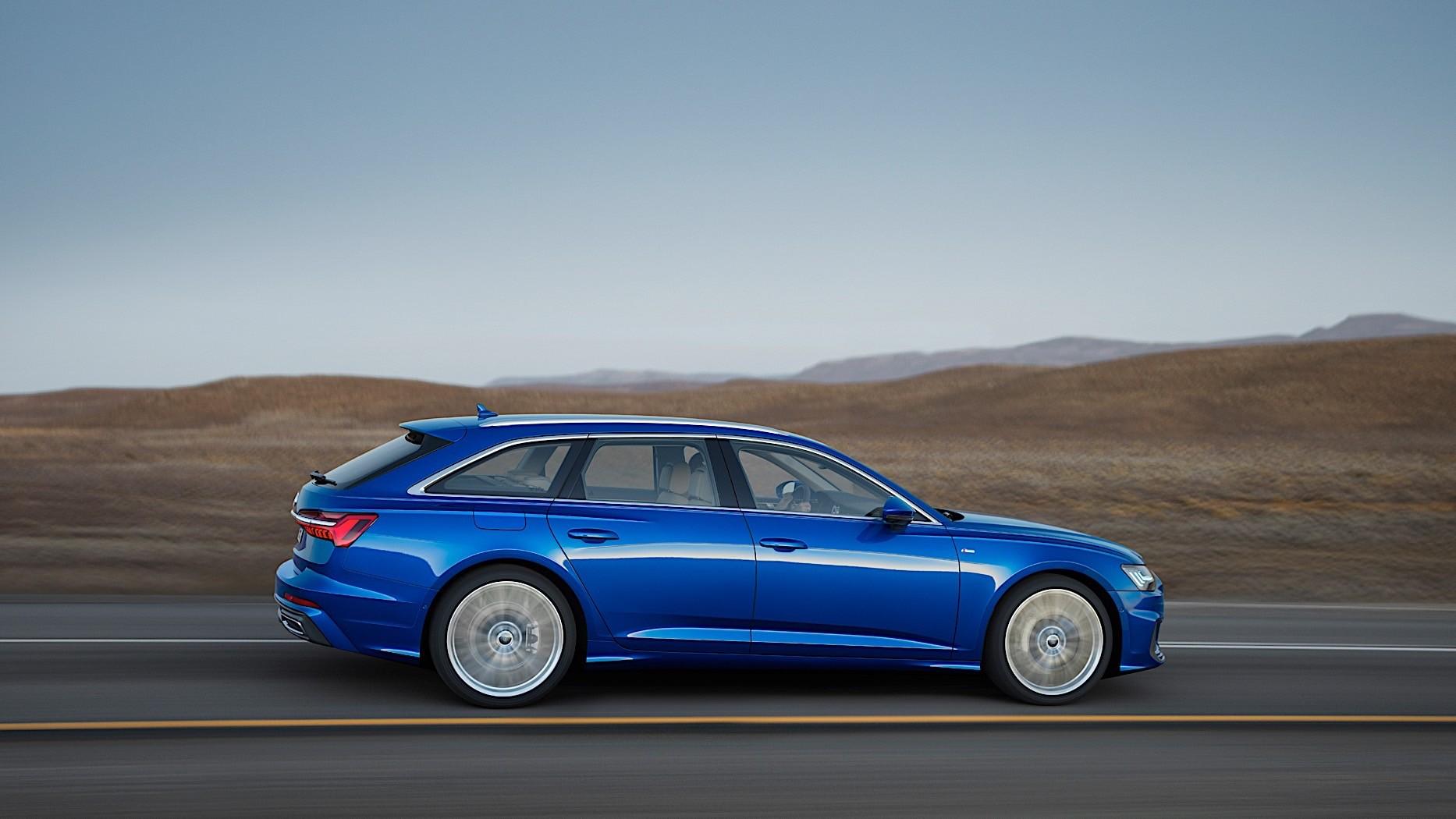 2019 Audi A6 Avant Unwrapped With Standard Mild Hybrid Autoevolution