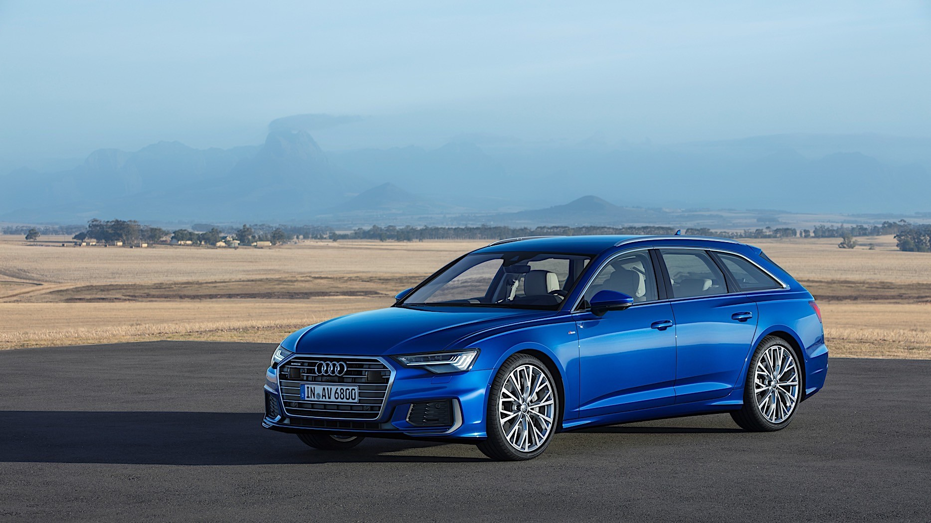 2019 audi a6 avant unwrapped with standard mild hybrid autoevolution. Black Bedroom Furniture Sets. Home Design Ideas