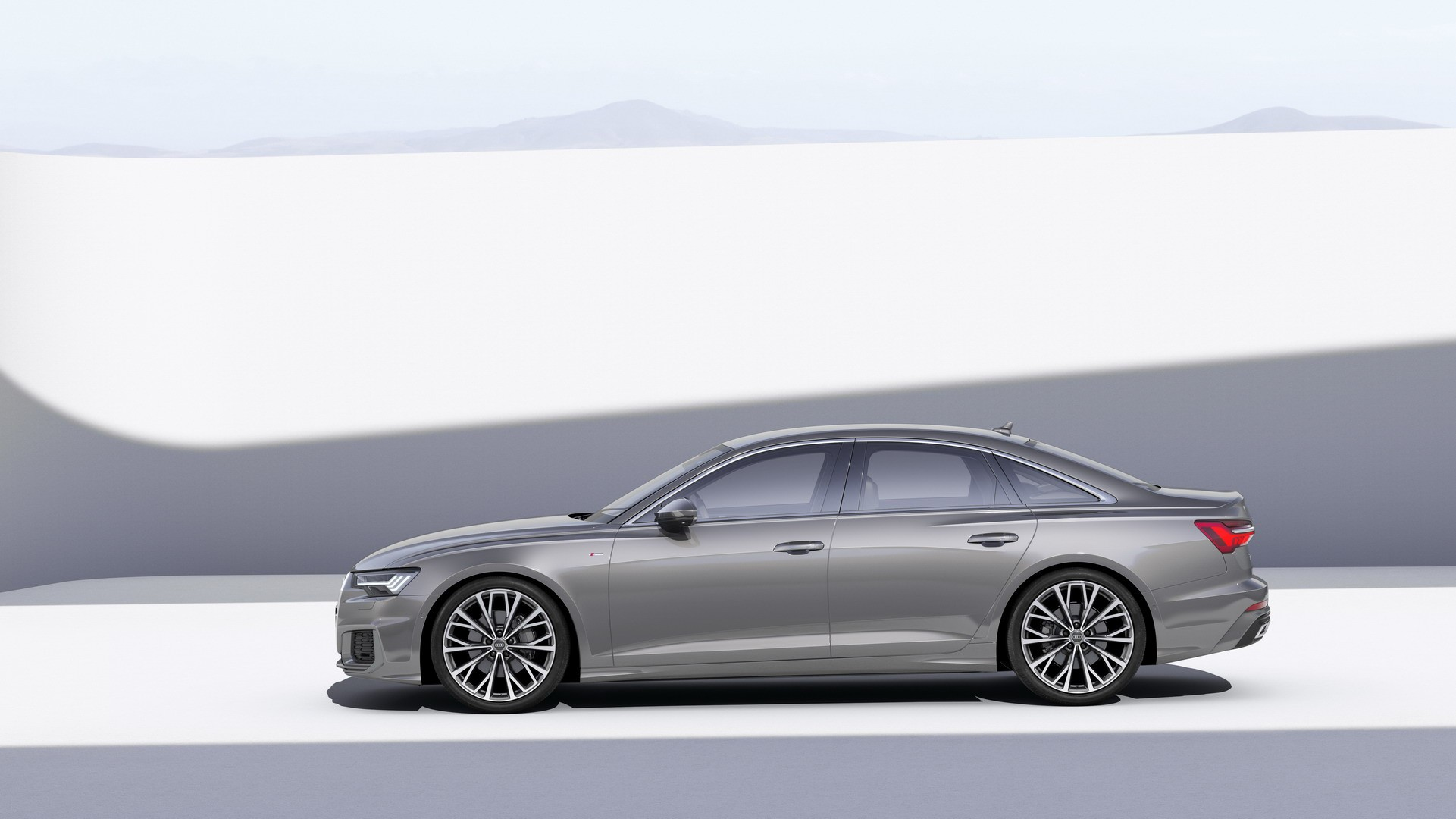 2019 audi a6 revealed with mild hybrid v6 engines quattro comes standard autoevolution. Black Bedroom Furniture Sets. Home Design Ideas
