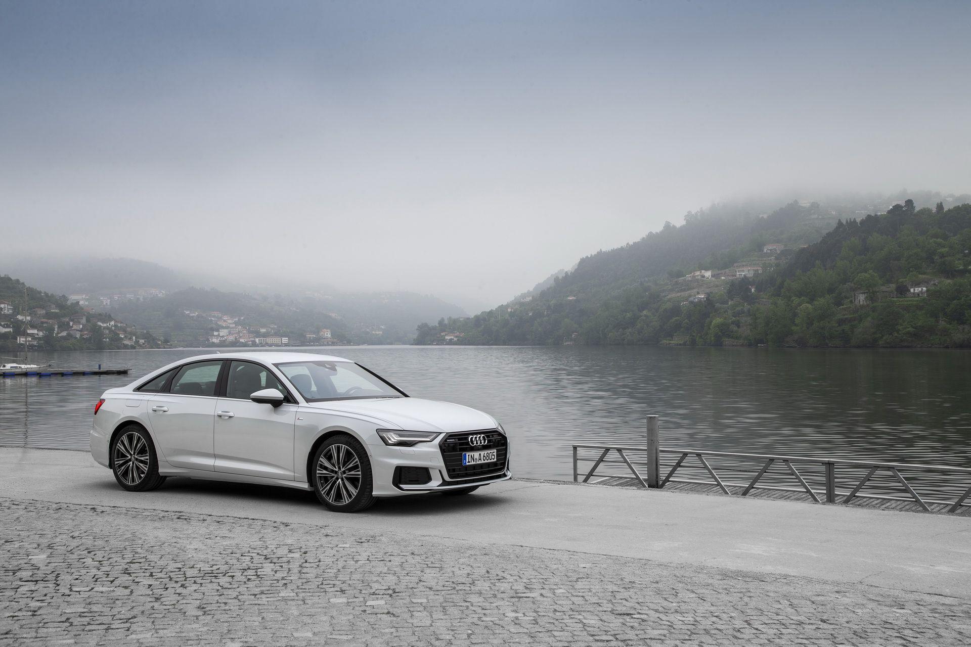 2019 Audi A6 Shows Off Taifun Grey Porto Suzuka Grey And Firmament