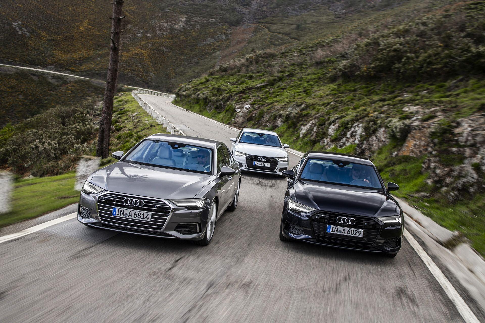 2019 Audi A6 Shows Off Taifun Grey Porto Suzuka Grey And