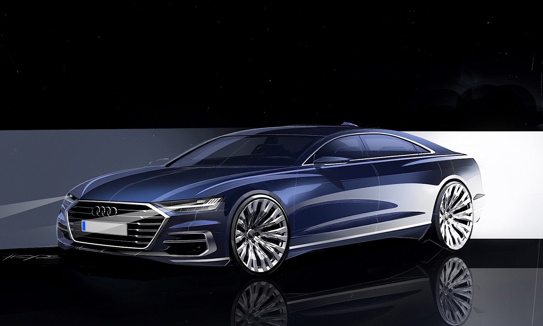 audi a8 coupe wants to start a luxury two door war with. Black Bedroom Furniture Sets. Home Design Ideas