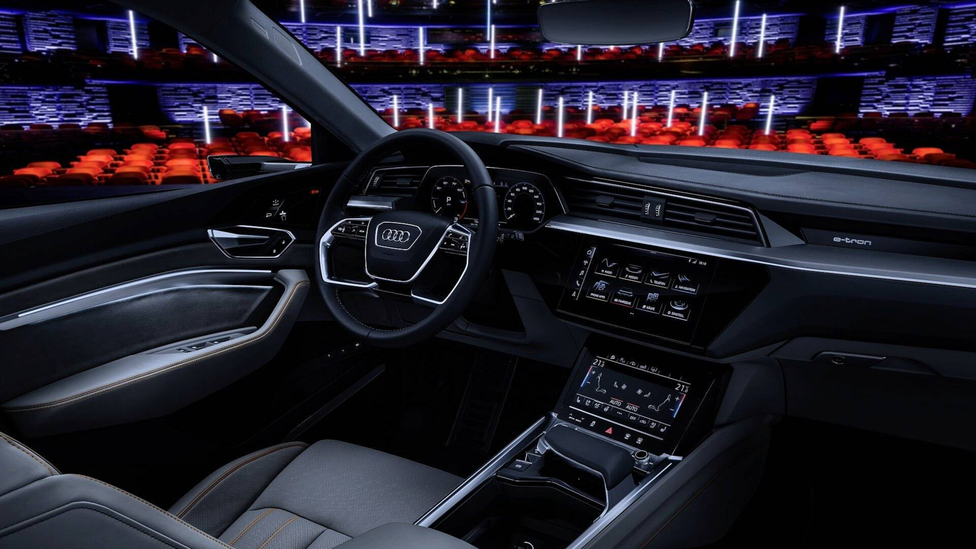 2019 Audi E Tron Suv Goes Into Production At Brussels Plant In