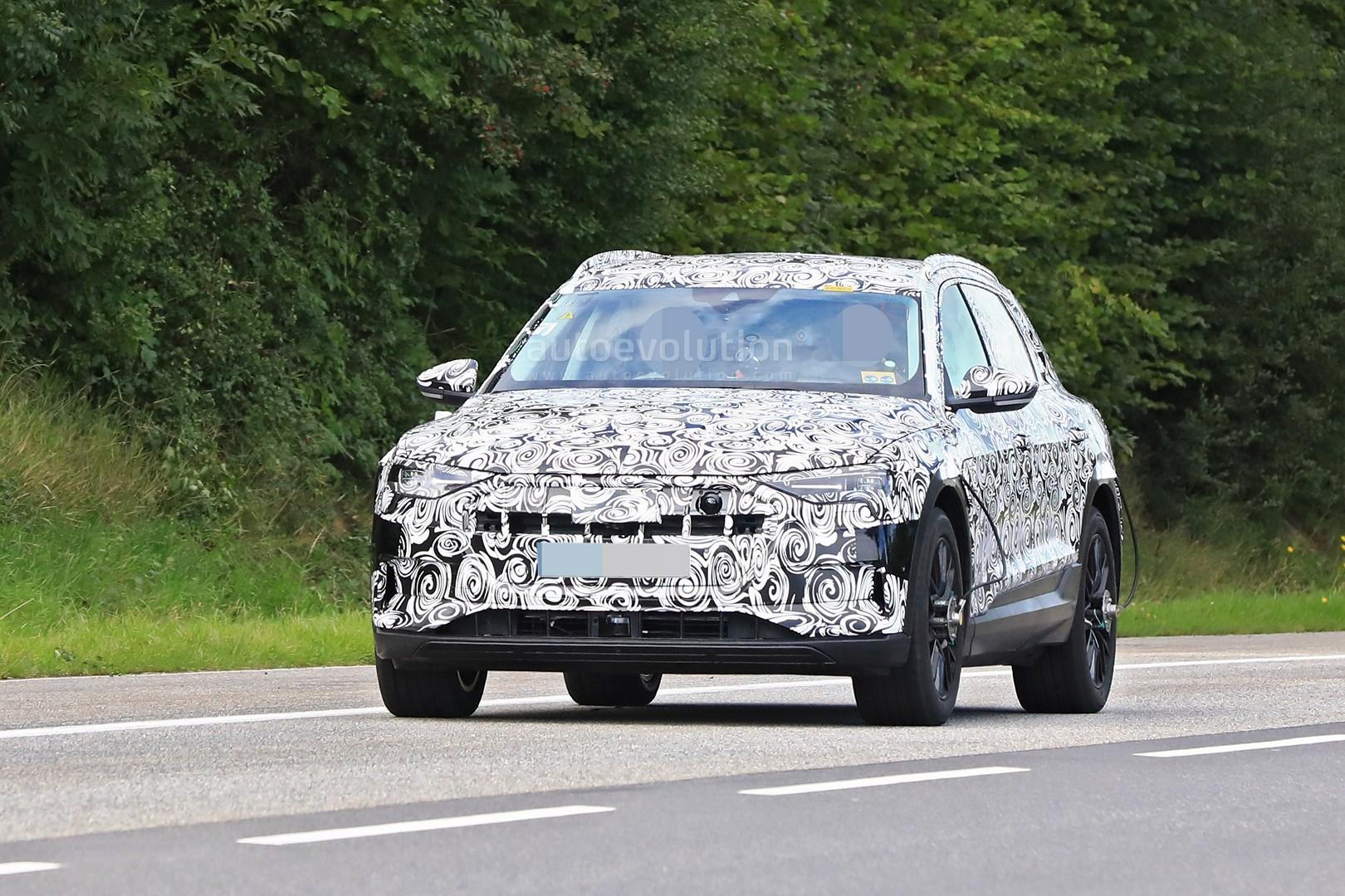 2019 Audi e-tron SUV: Tesla Rival Spied Testing Around ...