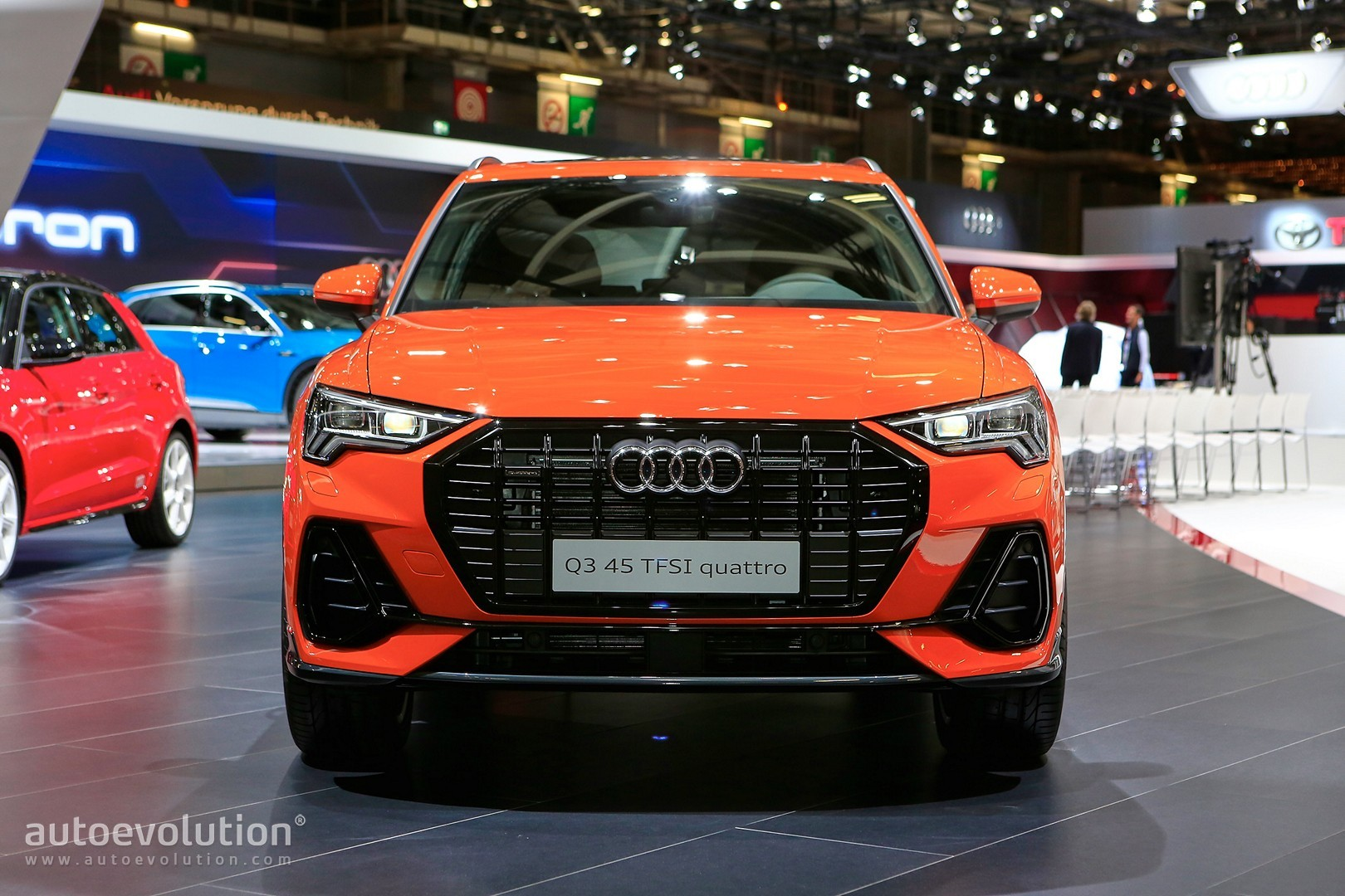 2019 Audi Q3 Debuts In Paris With Best Compact Suv Interior Ever