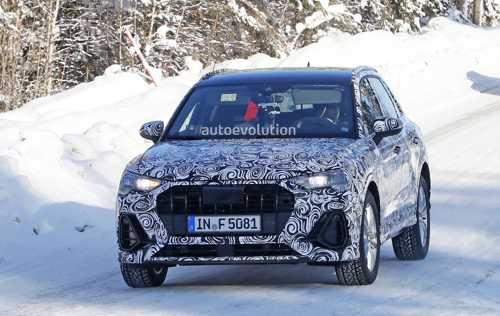 ... 2019 Audi Q3 Interior Revealed By Latest Spyshots, Could Be The SQ3 ...