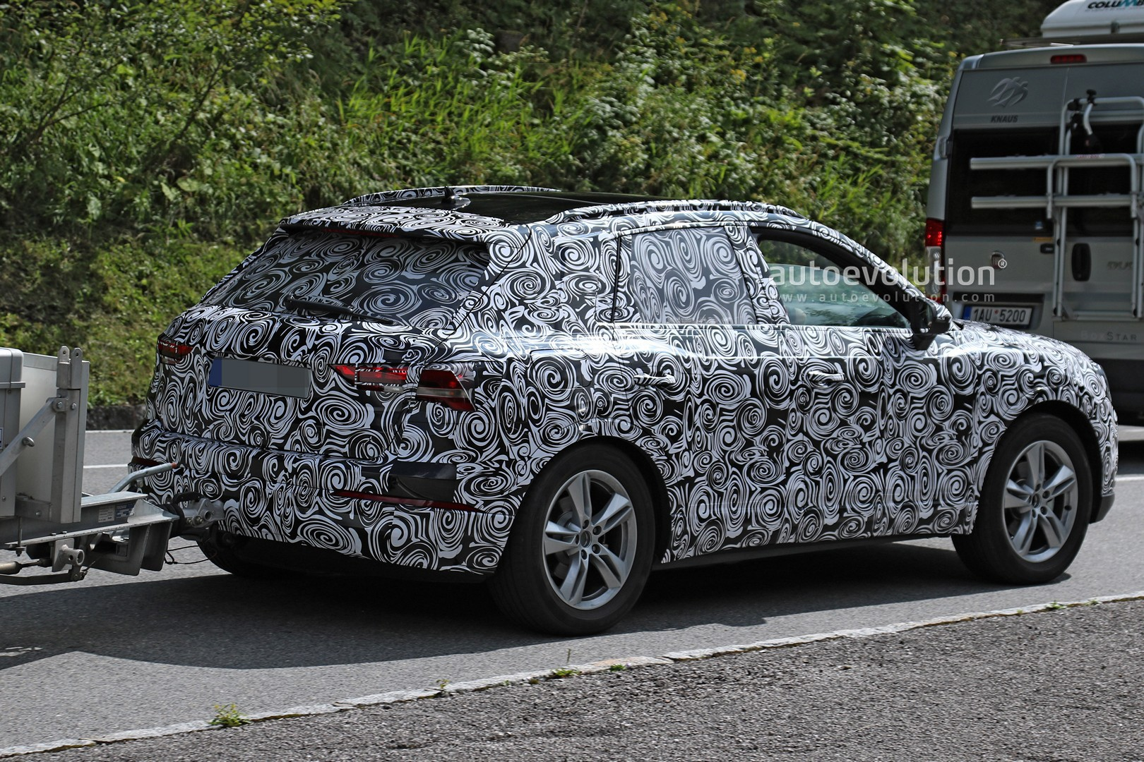 2019 Audi Q3 Spied During Alpine Testing Shows Sporty Sportback Design