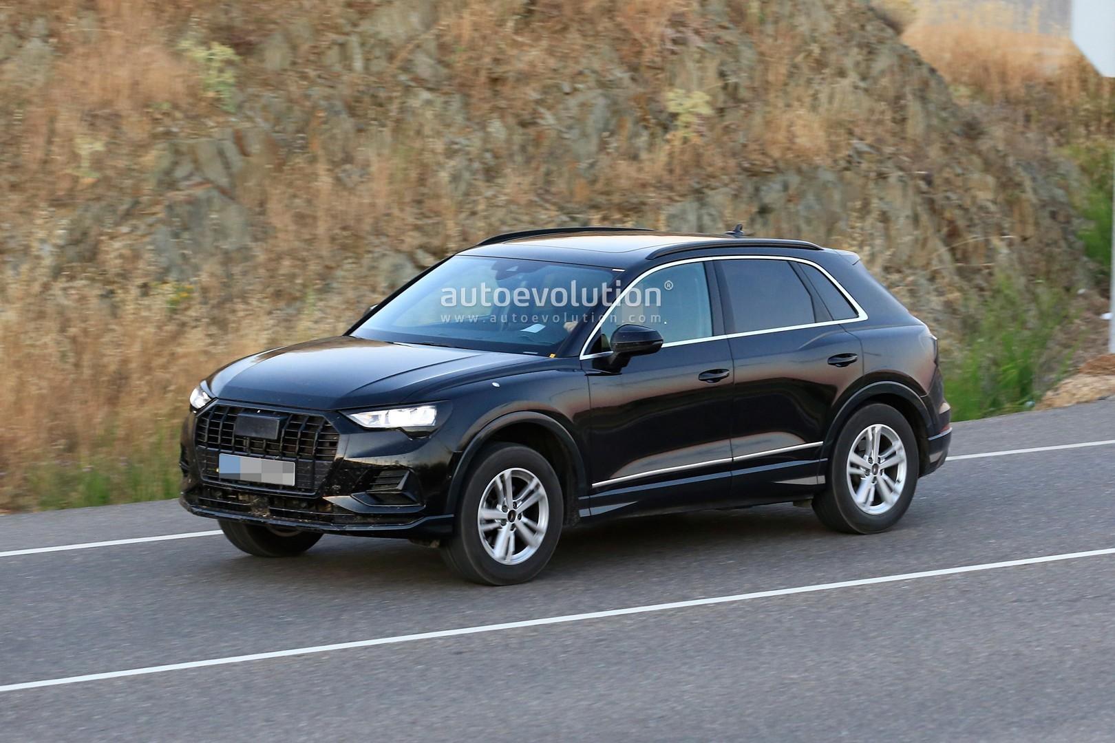 Spyshots 2019 Audi Q3 Caught Undisguised Looks Like A