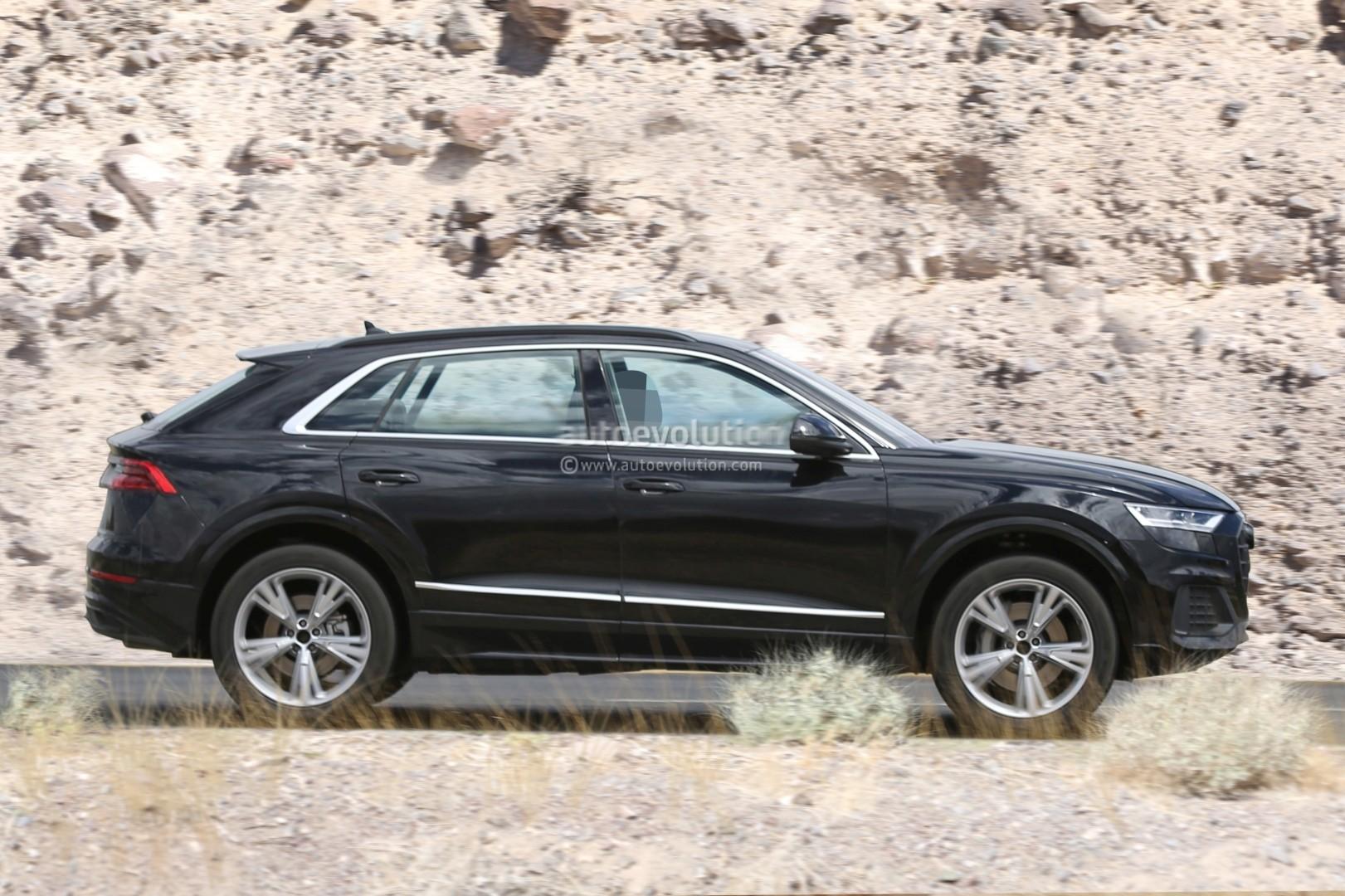 2019 Audi Q8 Spied
