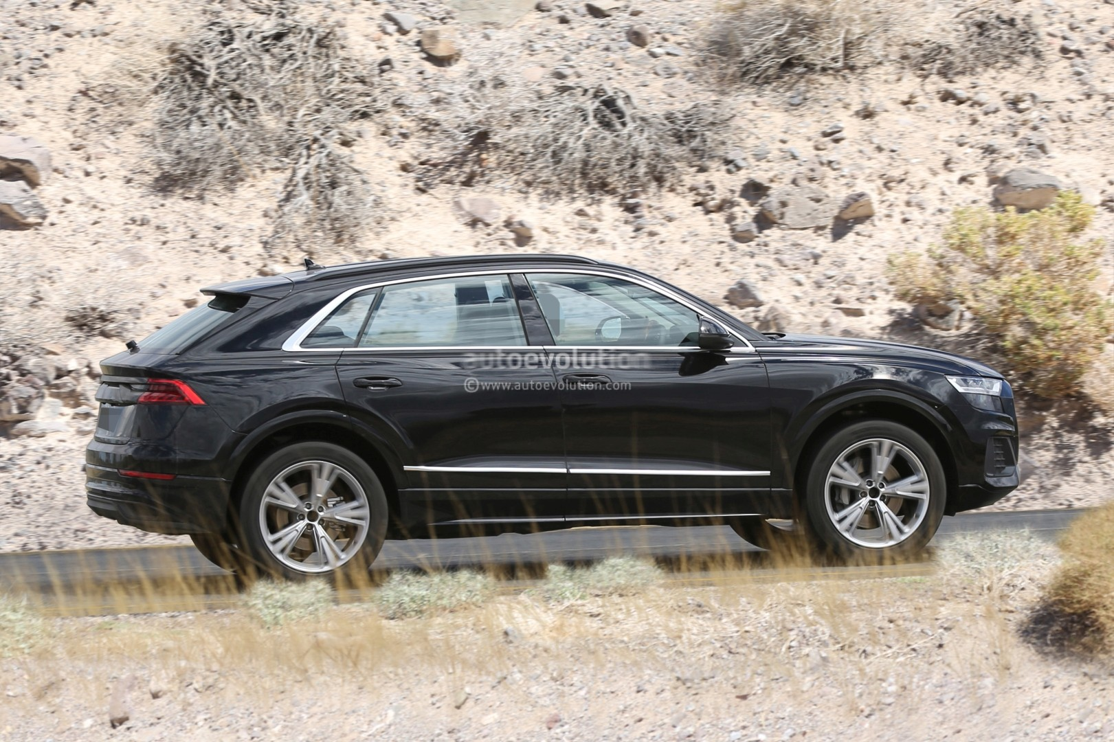 Spied Audi Q8 A K A The Lambo Urus For The Poor People
