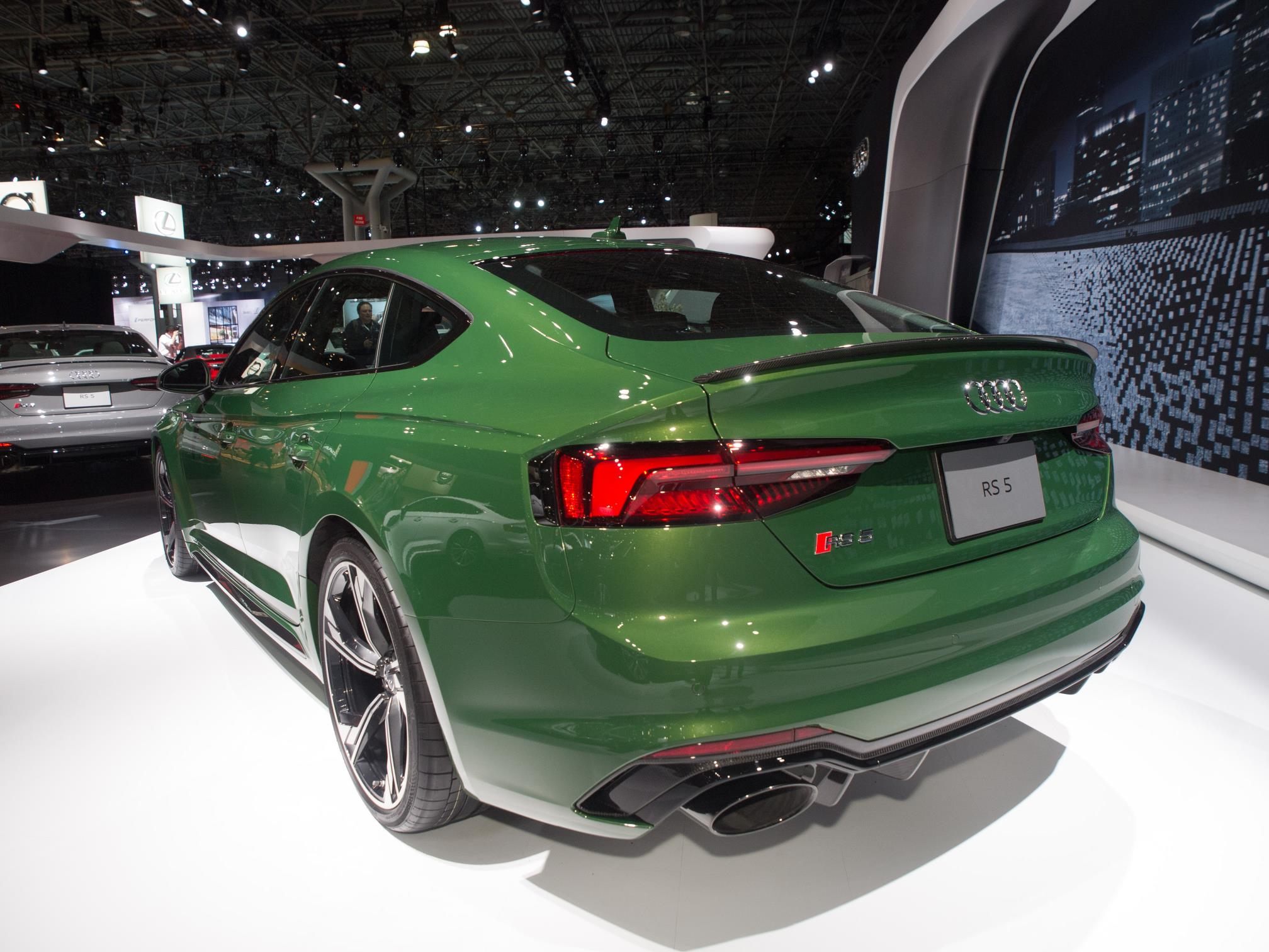 2019 audi rs5 sportback in sonoma green is anticlimactic autoevolution. Black Bedroom Furniture Sets. Home Design Ideas