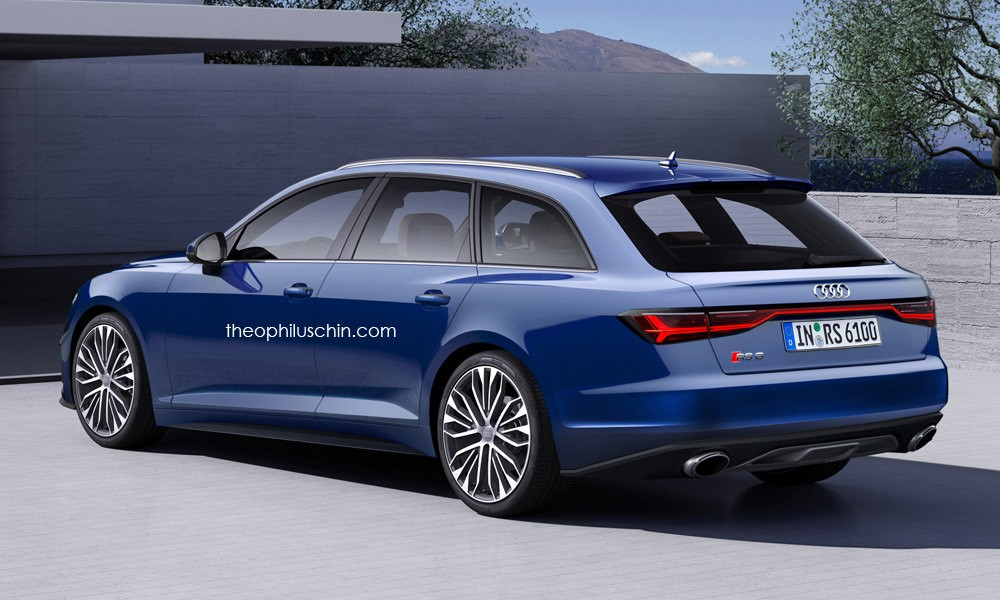 2019 Audi Rs6 Avant And Sedan Rendered With Prologue Look