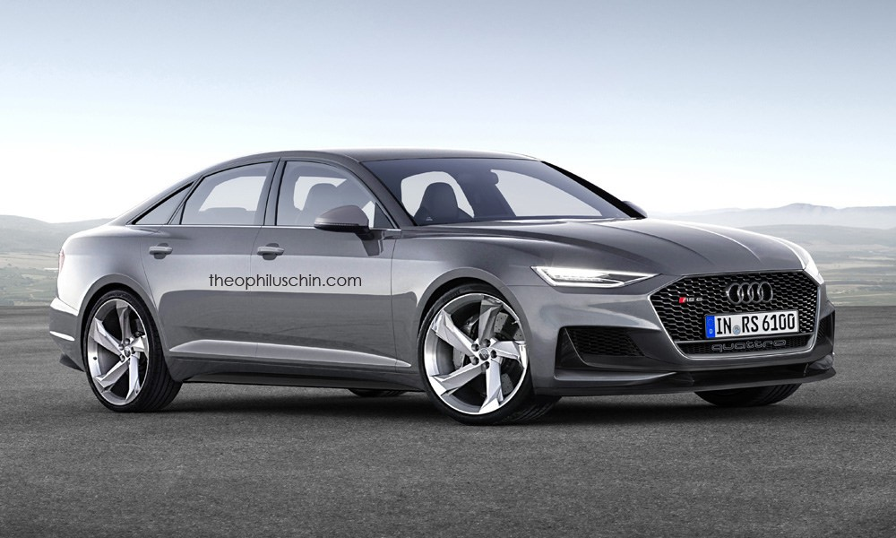 2019 audi rs6 avant and sedan rendered with prologue look. Black Bedroom Furniture Sets. Home Design Ideas