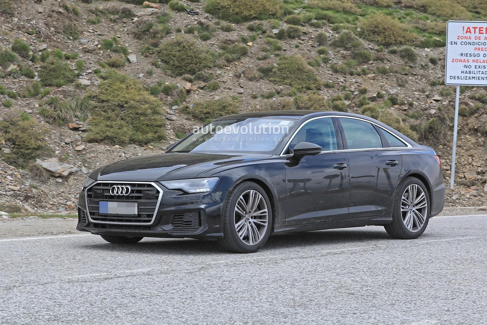 2019 Audi S6 Sedan Spied With Quad Exhaust - autoevolution