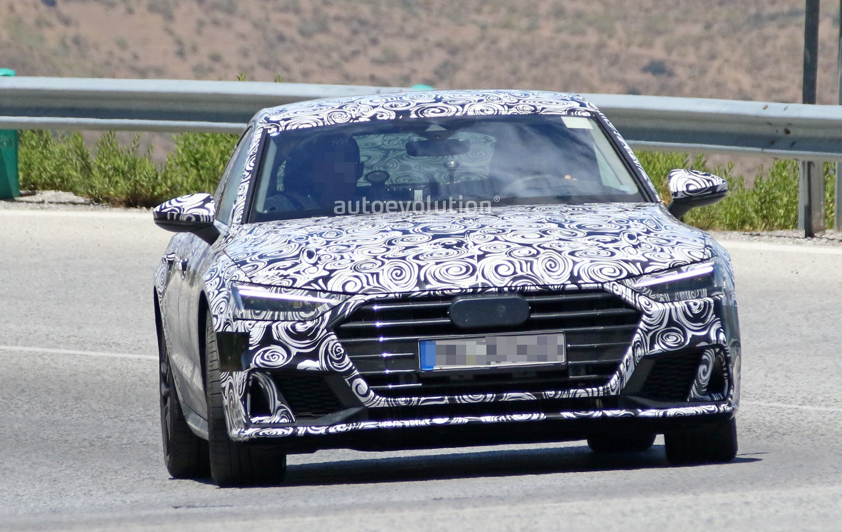 2019 audi s7 spied in detail looks ready to downsize to 2. Black Bedroom Furniture Sets. Home Design Ideas