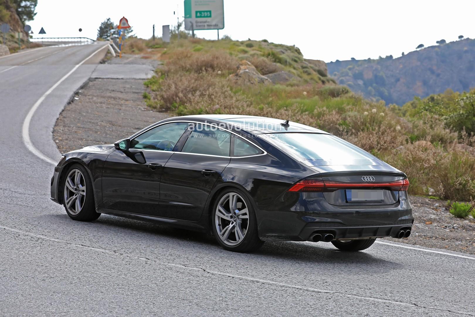 2019 audi s7 sportback spied during high altitude testing. Black Bedroom Furniture Sets. Home Design Ideas