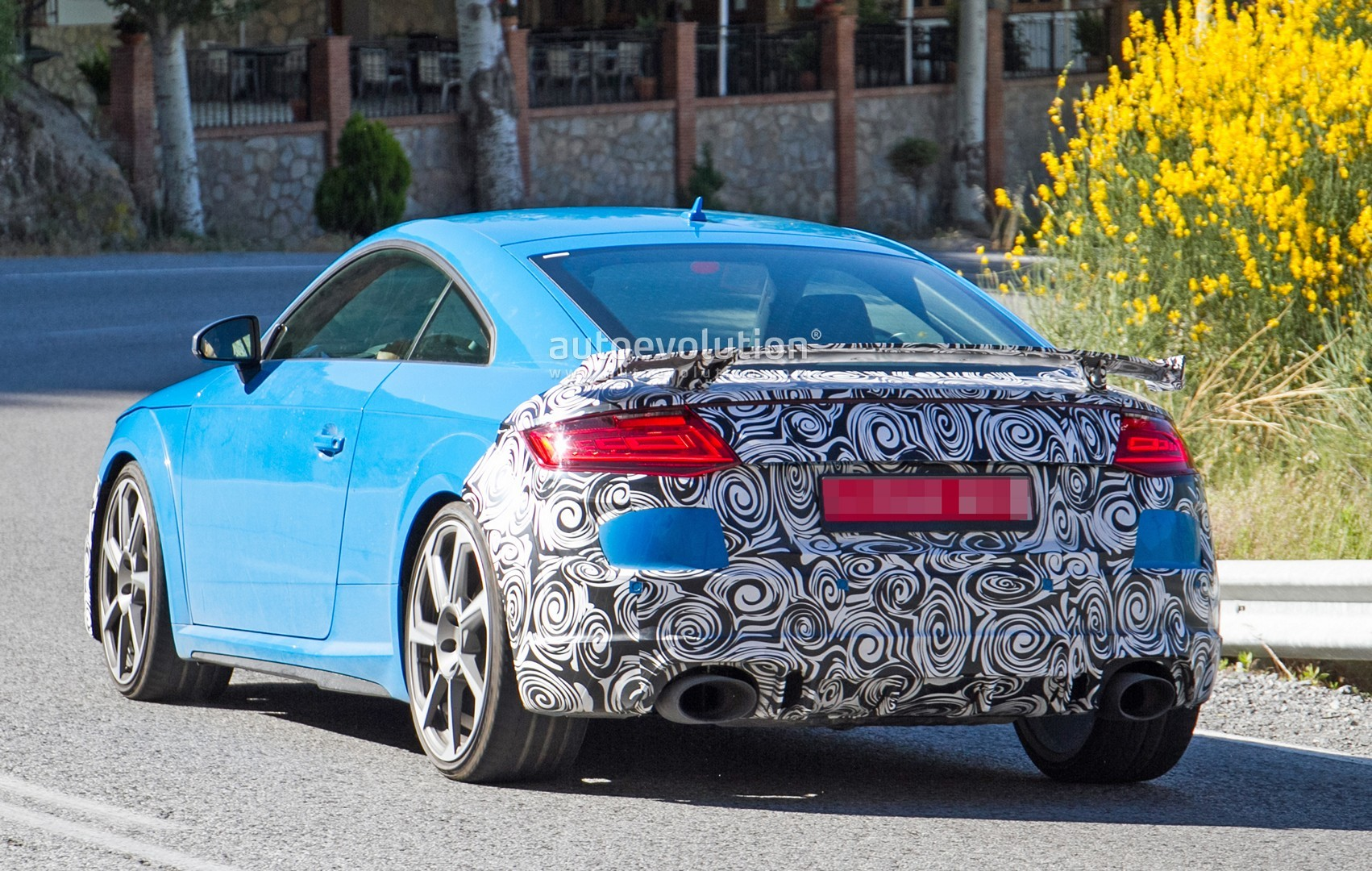 2019 Audi Tt Rs Spied With New Rs Look And Fresh Blue