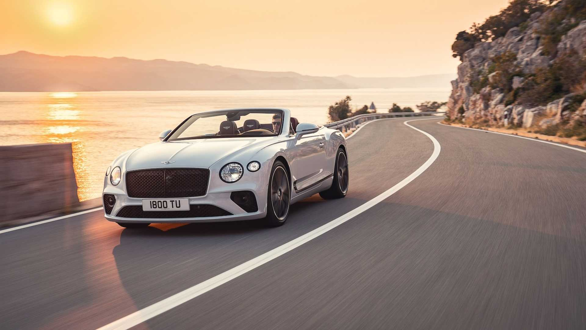 2019 Bentley Continental Gtc Is All About The Open Air
