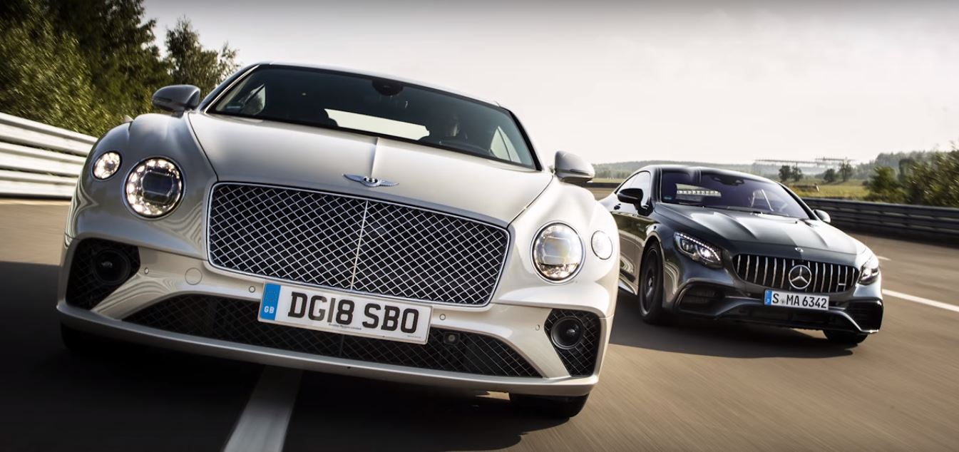 2019 Bentley Continental Gt Tops Mercedes Amg S63 Coupe In German
