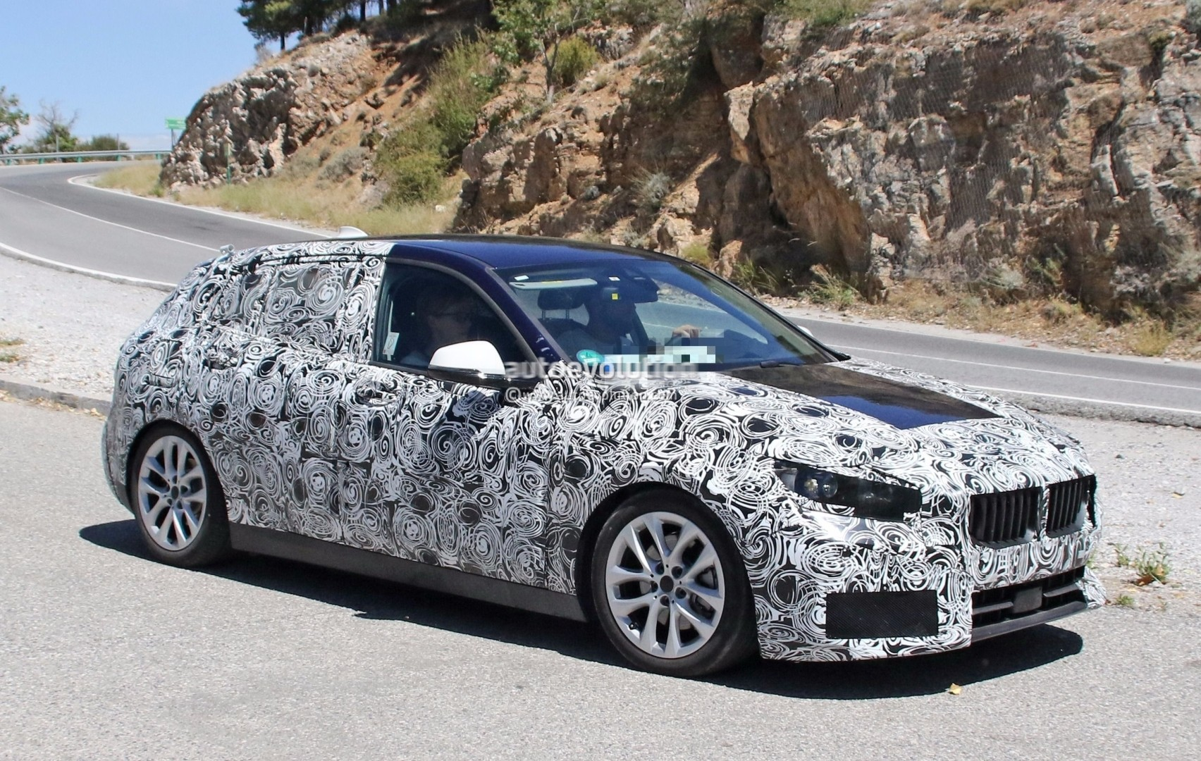 2019 bmw 1 series spied at nurburgring gets closer to. Black Bedroom Furniture Sets. Home Design Ideas