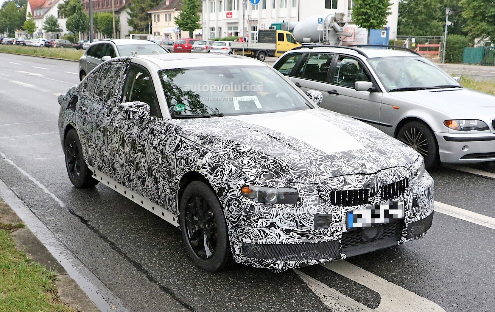 2019 Bmw 3 Series G20 Prototype Shows Massive Digital