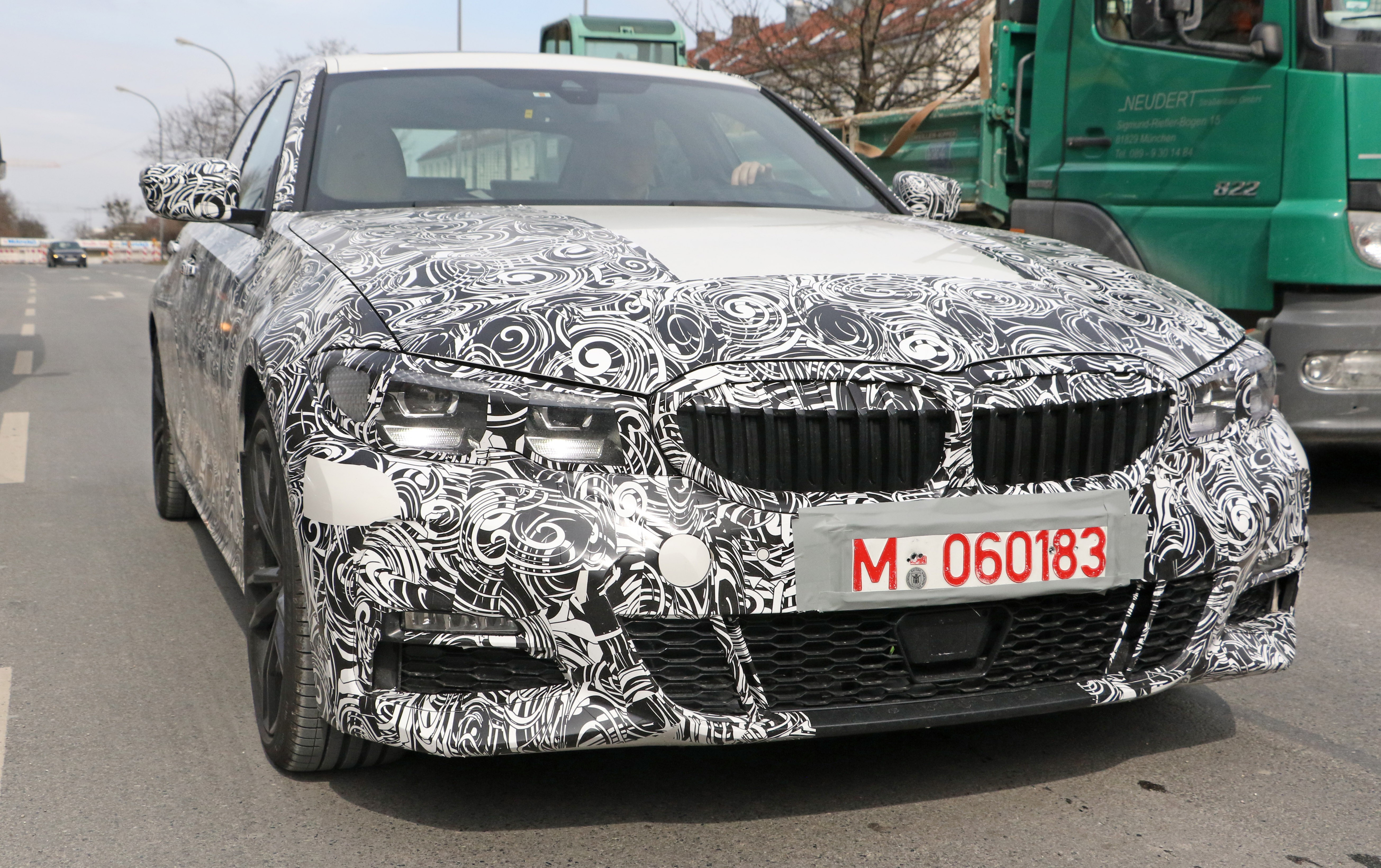 2019 Bmw 3 Series G20 Shows All New Interior M Sport
