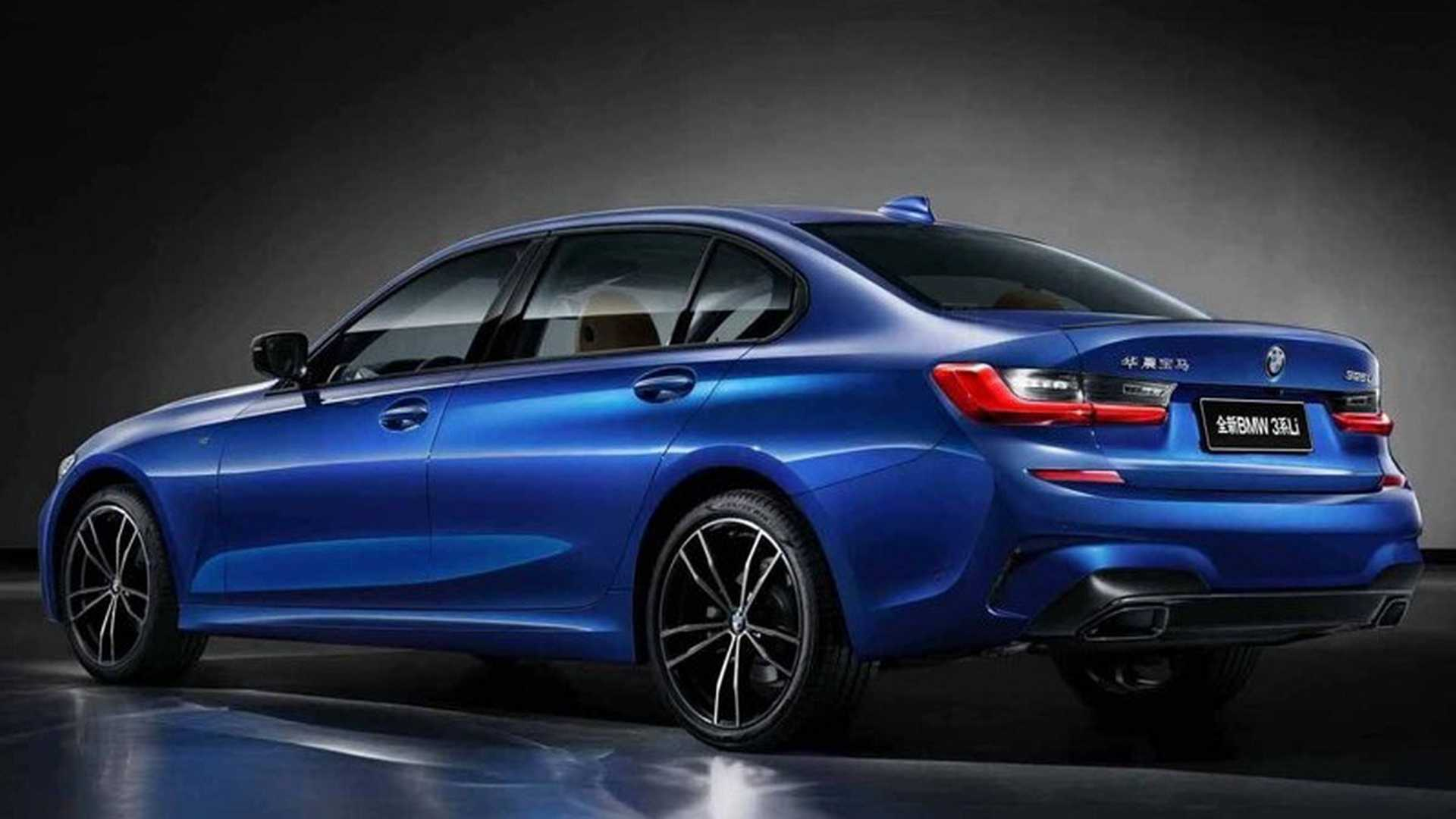 2019 BMW 3 Series Shows Off Long Wheelbase In China