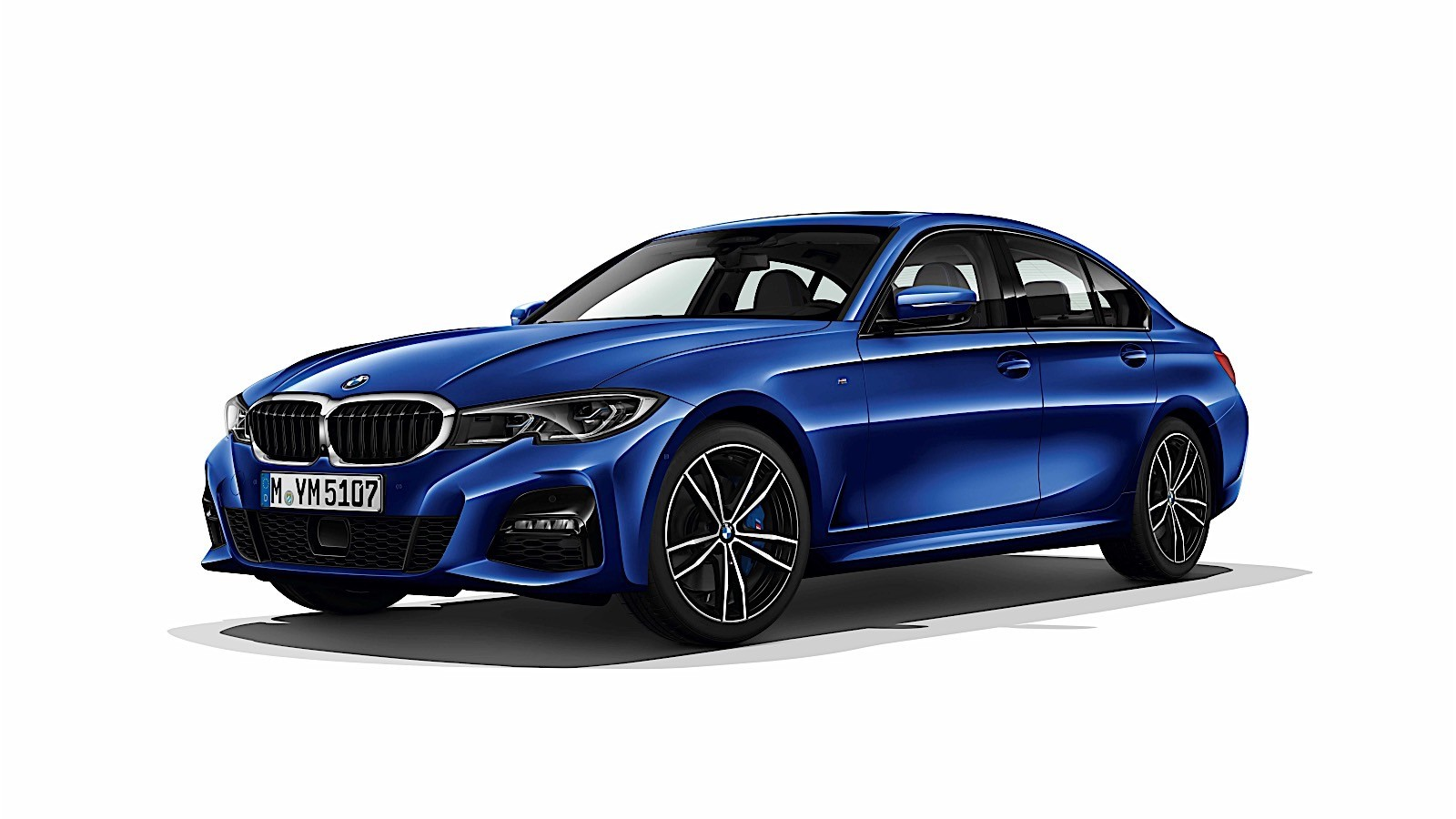 2019 bmw 3 series photos leaked m340i m performance shows its face autoevolution. Black Bedroom Furniture Sets. Home Design Ideas