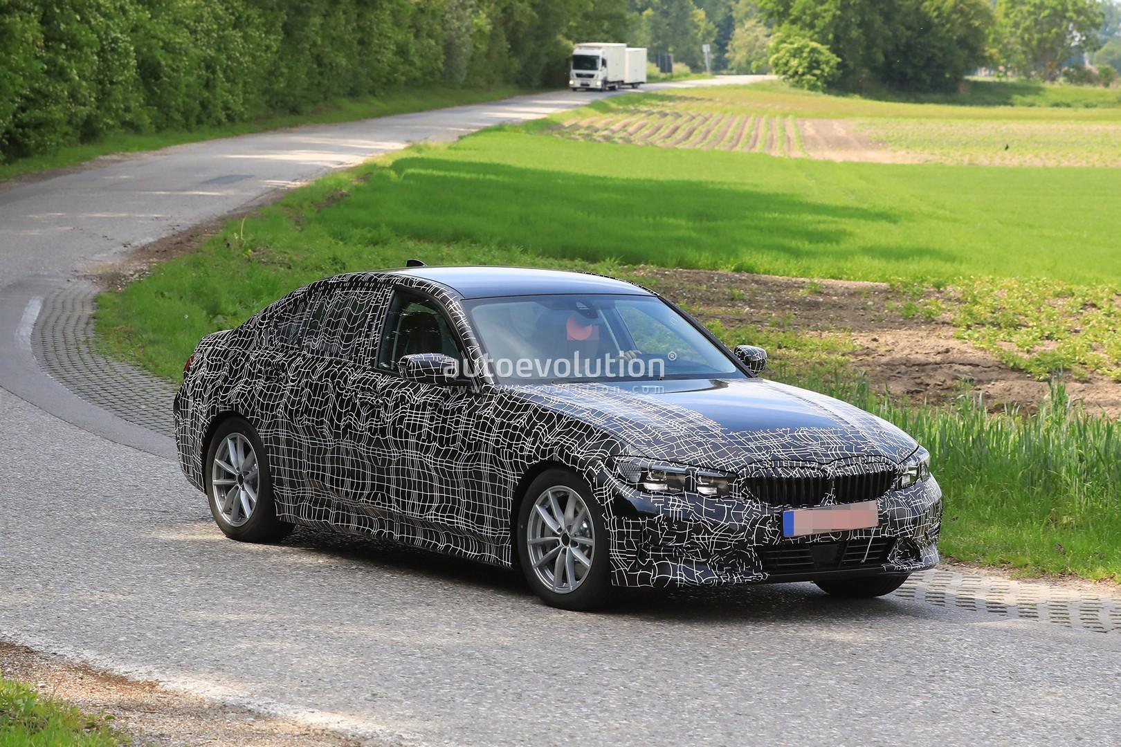 Bmw 3 Series G20 >> Spyshots: 2019 BMW 3 Series Sheds Heavy Camo, Reveals 8 Series-Like Design - autoevolution