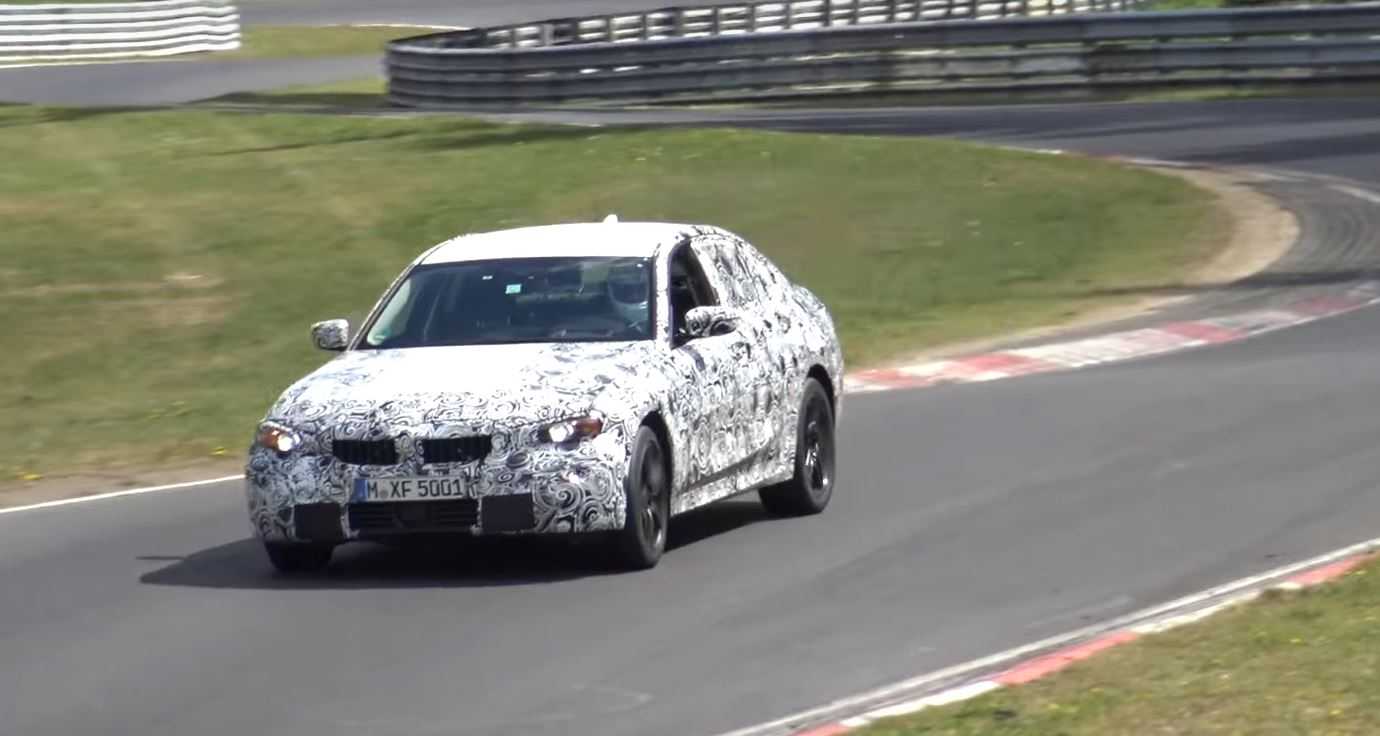 2019 Bmw 3 Series Spied At Nurburgring M3 Rumored To Get