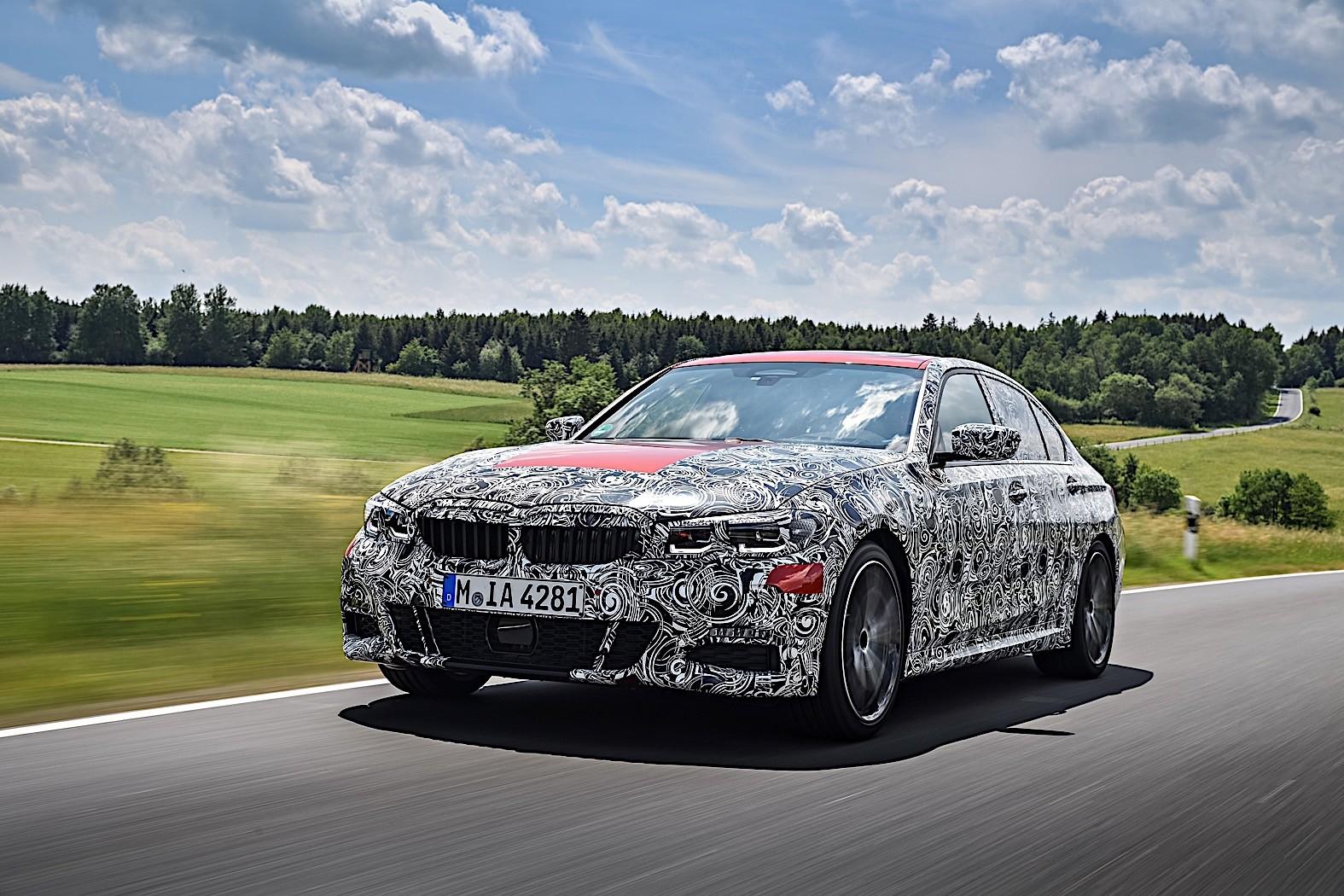 2019 BMW 3 Series Teased, Looks Like The M340i M ...