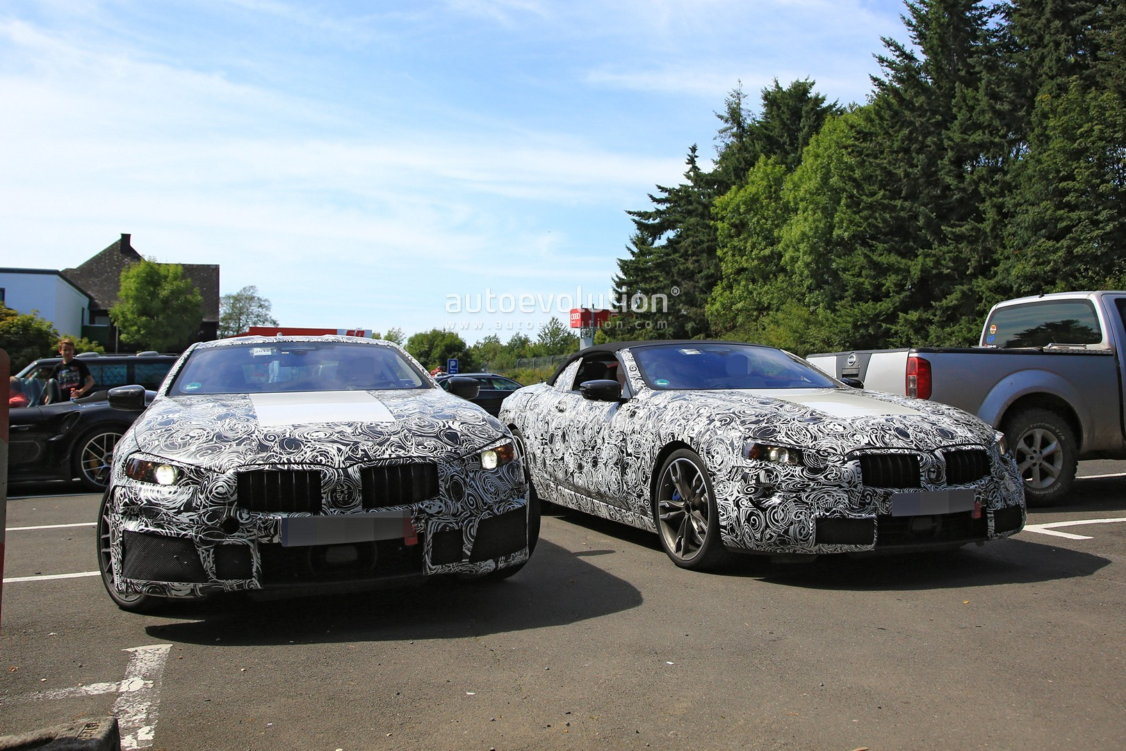 2019 BMW 8 Series Convertible Plays On The Nurburgring  autoevolution