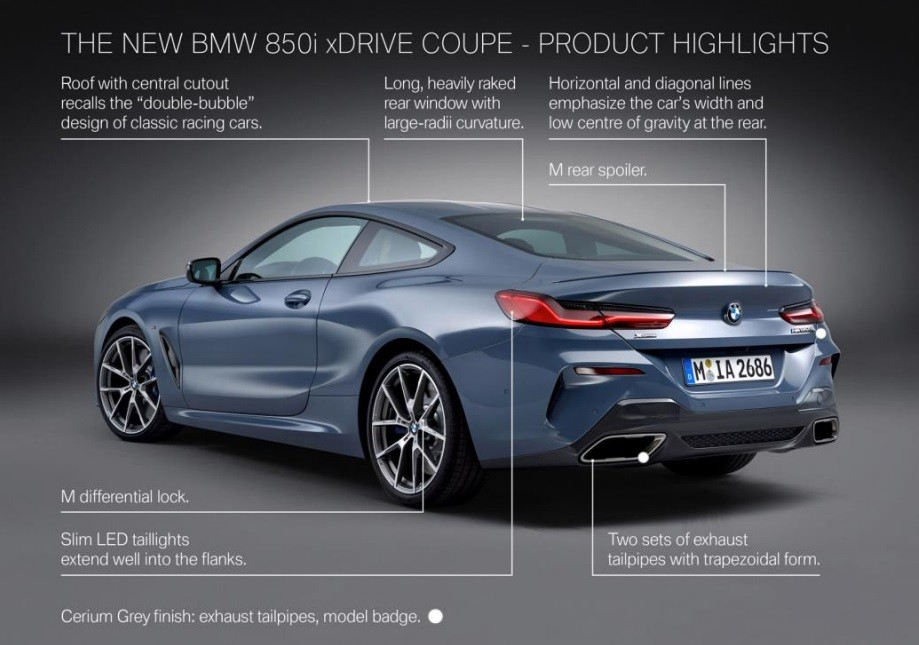 2019 Bmw 8 Series Going On Sale In The U S From 111 900 Autoevolution