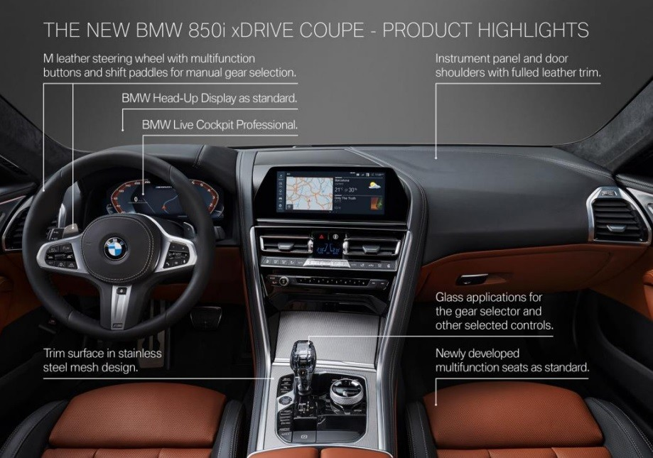 2019 BMW 8 Series Pricing Announced, 840d xDrive Starts At ...