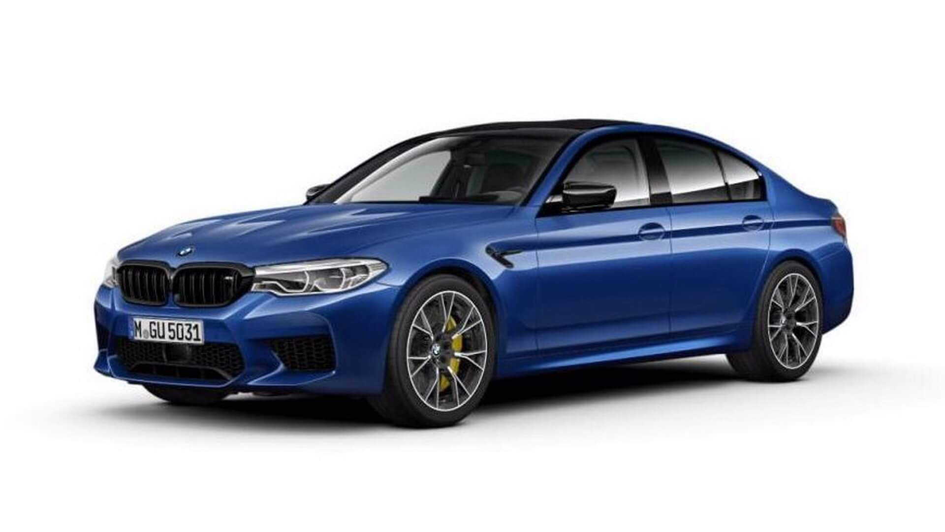 2019 bmw m5 competition leaked its more driver centric than ever autoevolution. Black Bedroom Furniture Sets. Home Design Ideas