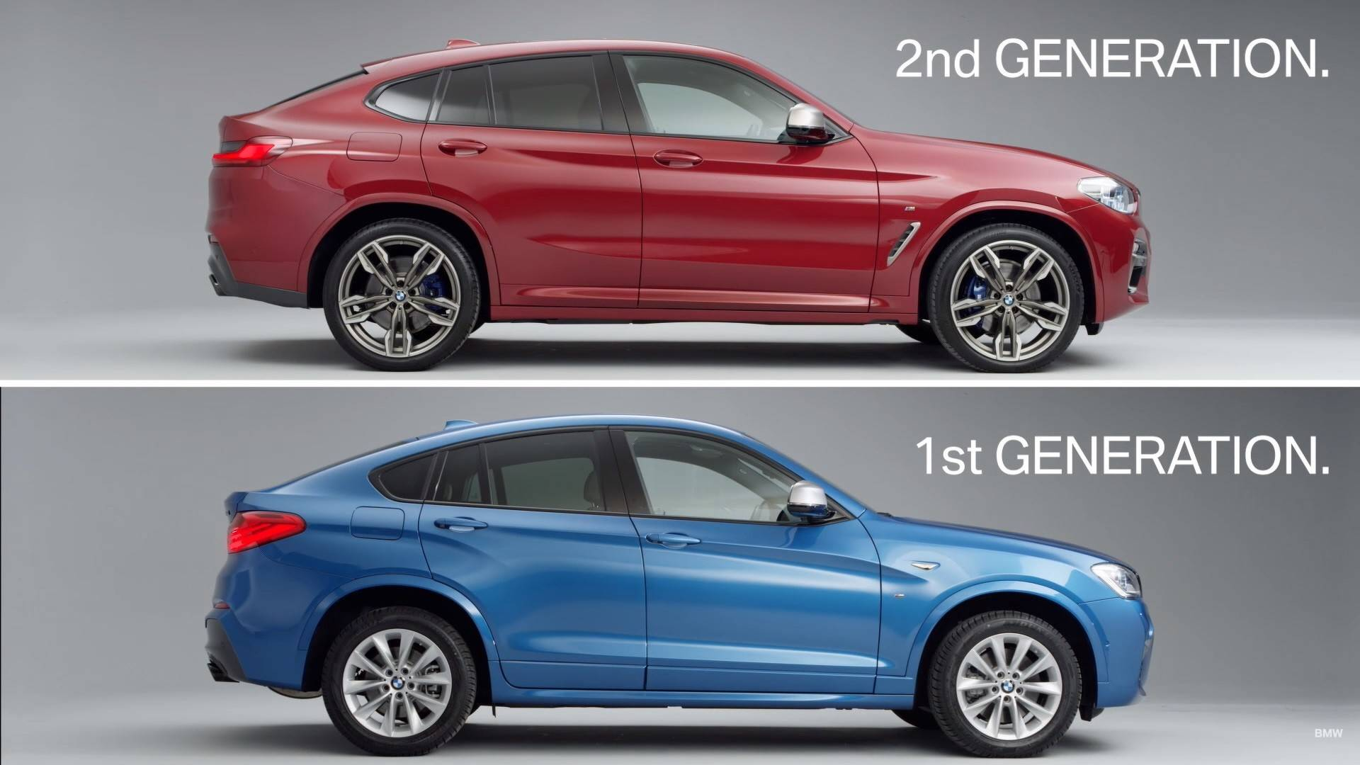2019 bmw x4 compared to old model in official video autoevolution. Black Bedroom Furniture Sets. Home Design Ideas