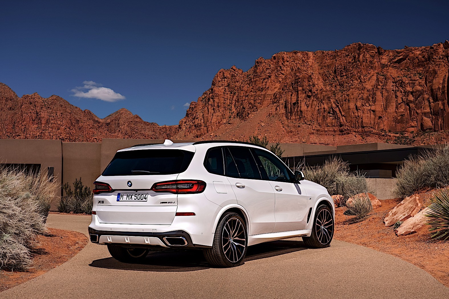 2019 bmw x5 breaks cover as bigger meaner suv autoevolution. Black Bedroom Furniture Sets. Home Design Ideas