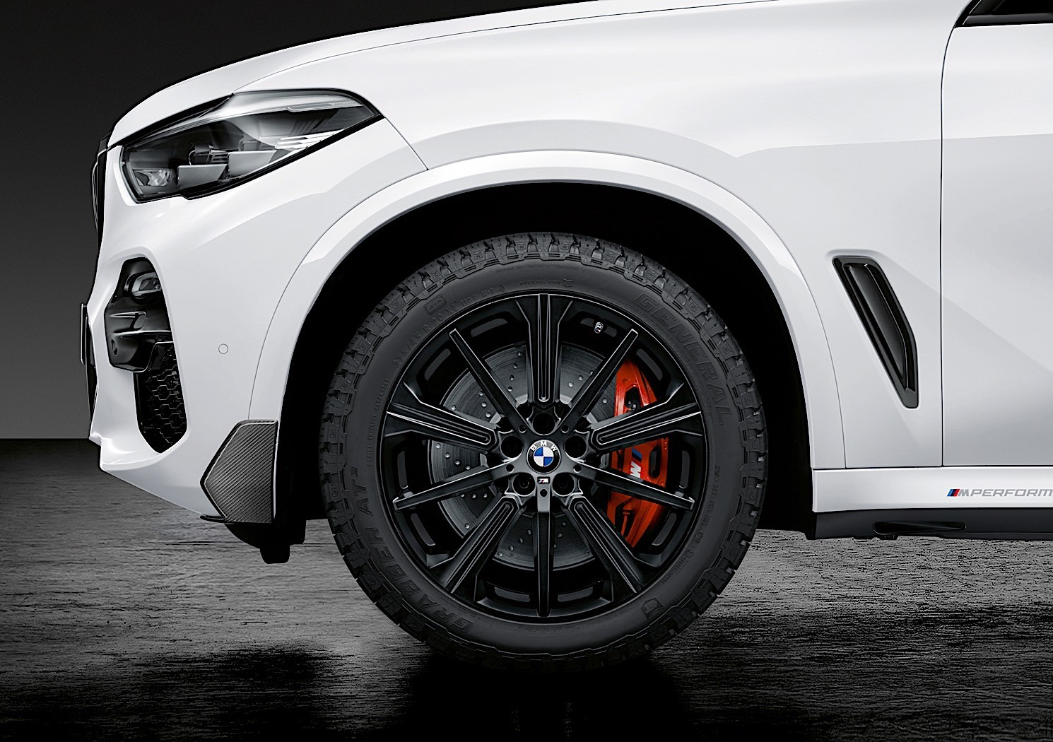 General At Tires >> 2019 BMW X5 M Performance Parts Are All About Driving Analysis and Carbon Fiber - autoevolution