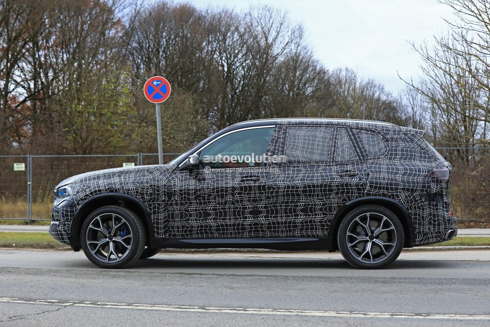 2019 Bmw X5 Spied In Germany Shows Sporty Stance