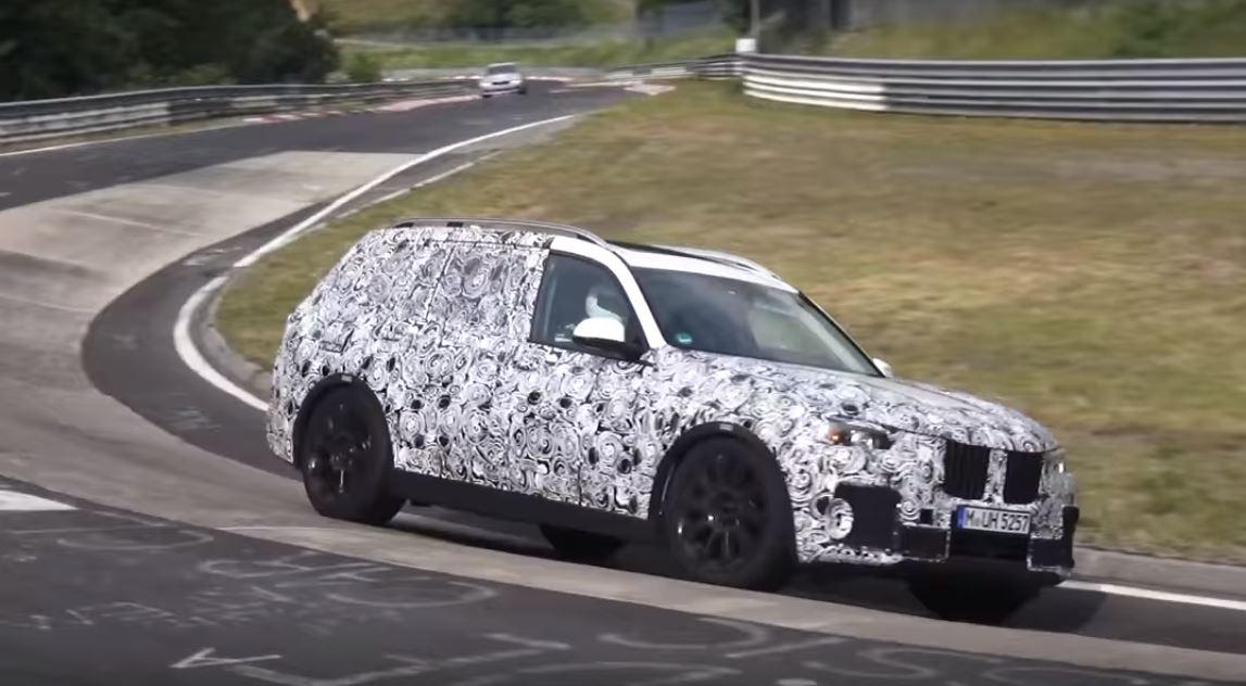 BMW X7 Nurburgring Testing