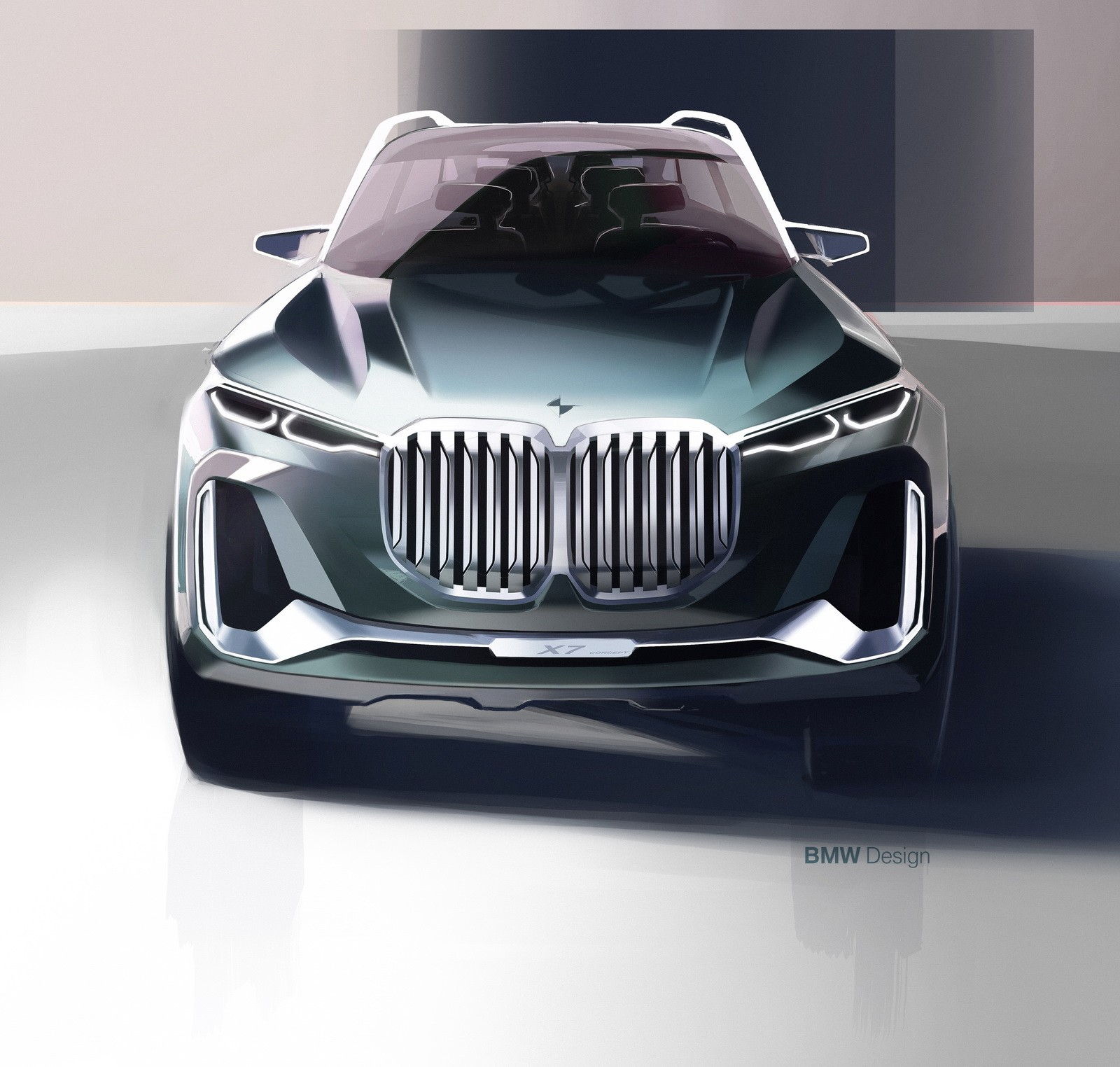 Bmw X7 2018: 2019 BMW X7 (G07) Looks Massive In Design Patent