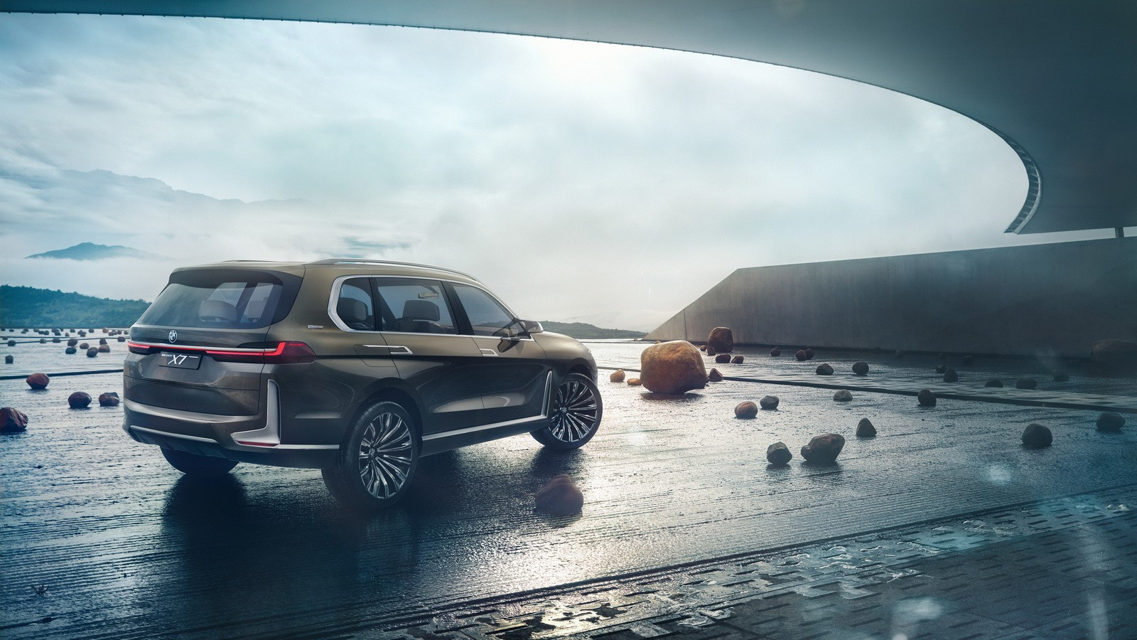 2019 bmw x7 sav edges closer to production concept looks opulent autoevolution. Black Bedroom Furniture Sets. Home Design Ideas