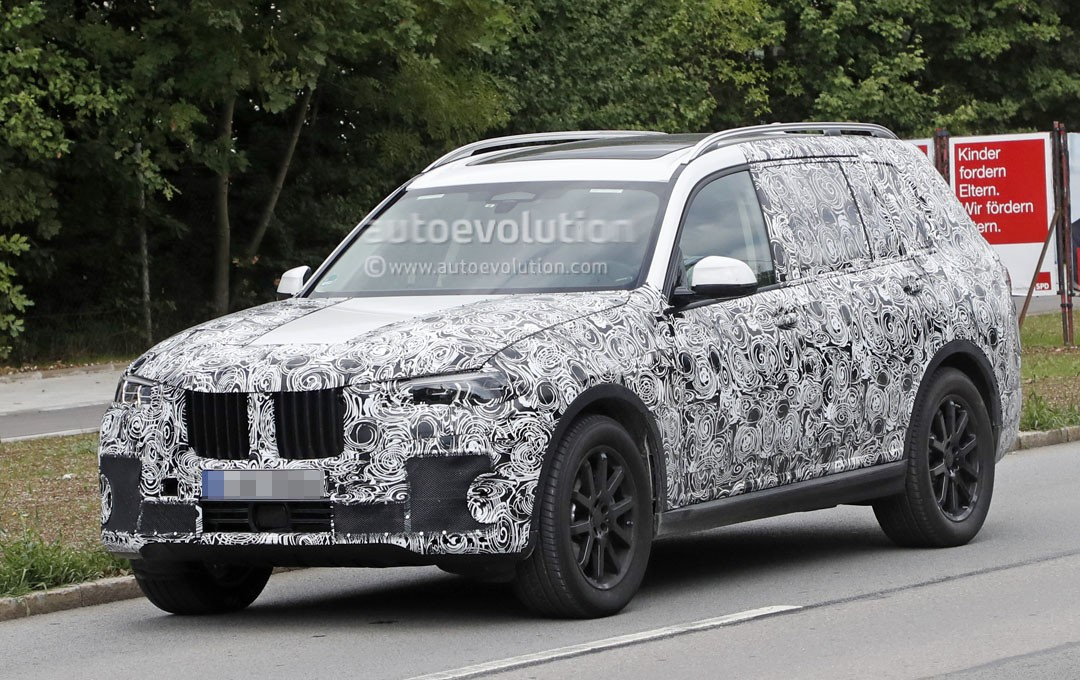 2019 bmw x7 spied near the nurburgring looking as massive. Black Bedroom Furniture Sets. Home Design Ideas