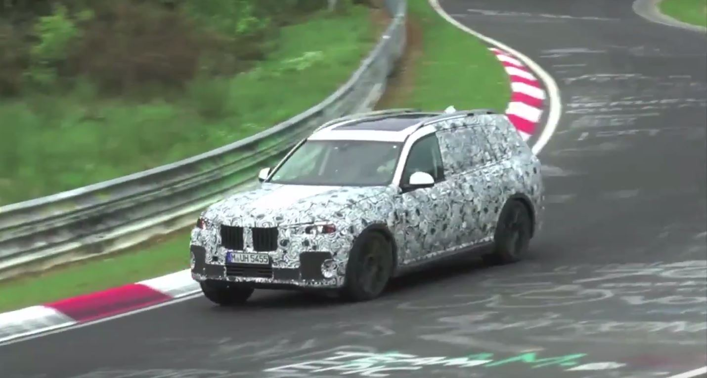 2019 Bmw X7 Spied At The Nurburgring Looks Chunky